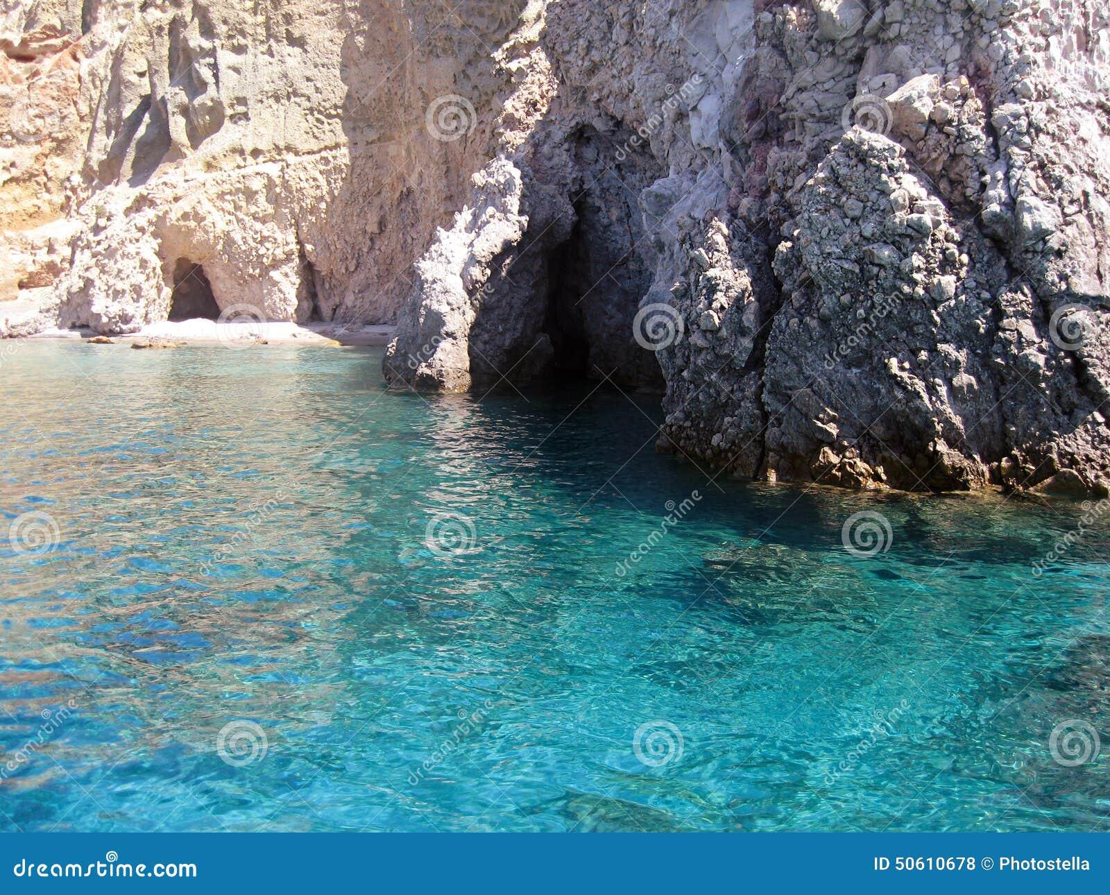 Kleftiko Beach, Milos Island Stock Photo - Image: 50610678