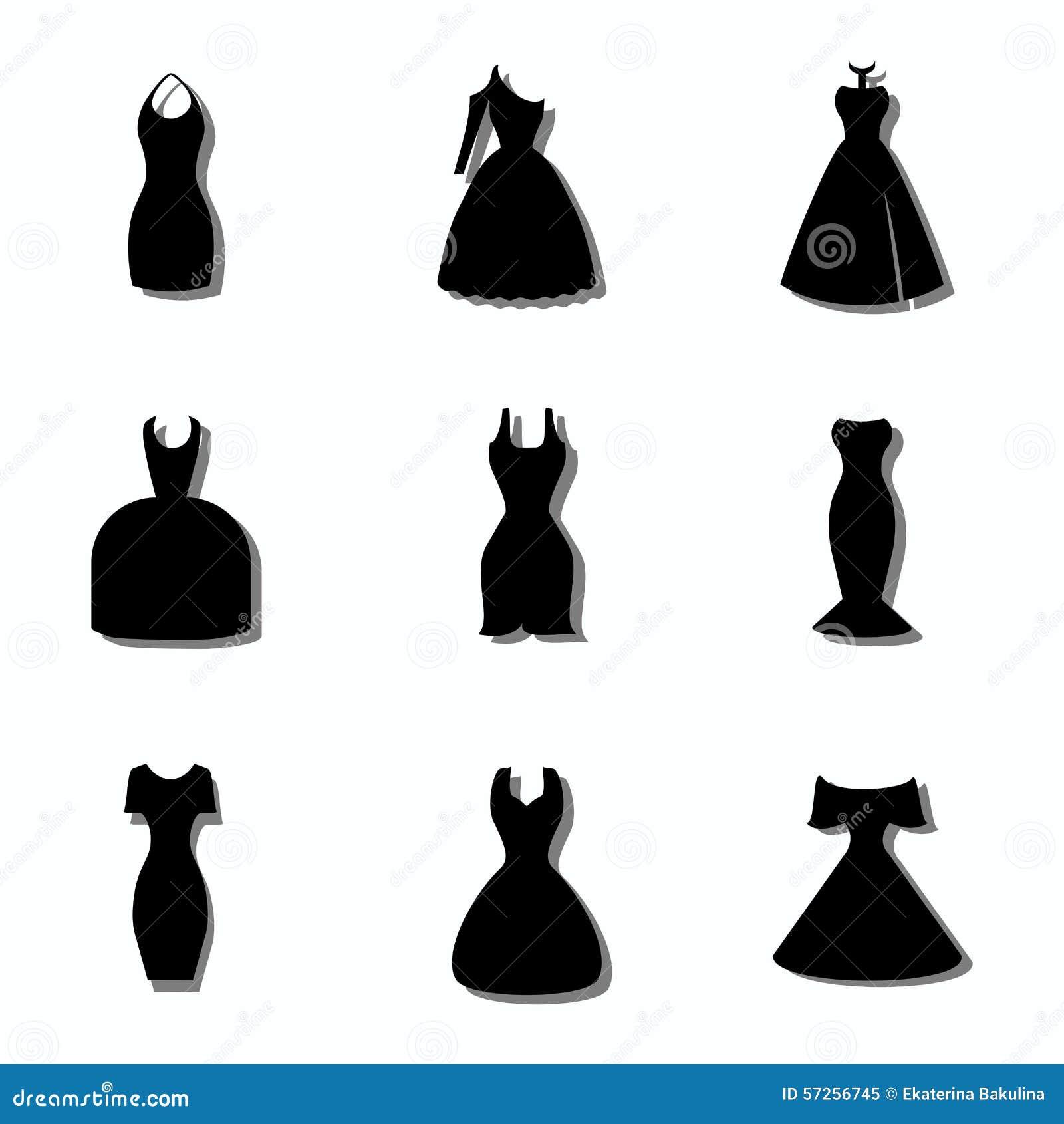 abbildungIllustration von vektor Arten Kleidern material von 0P8nwOXk