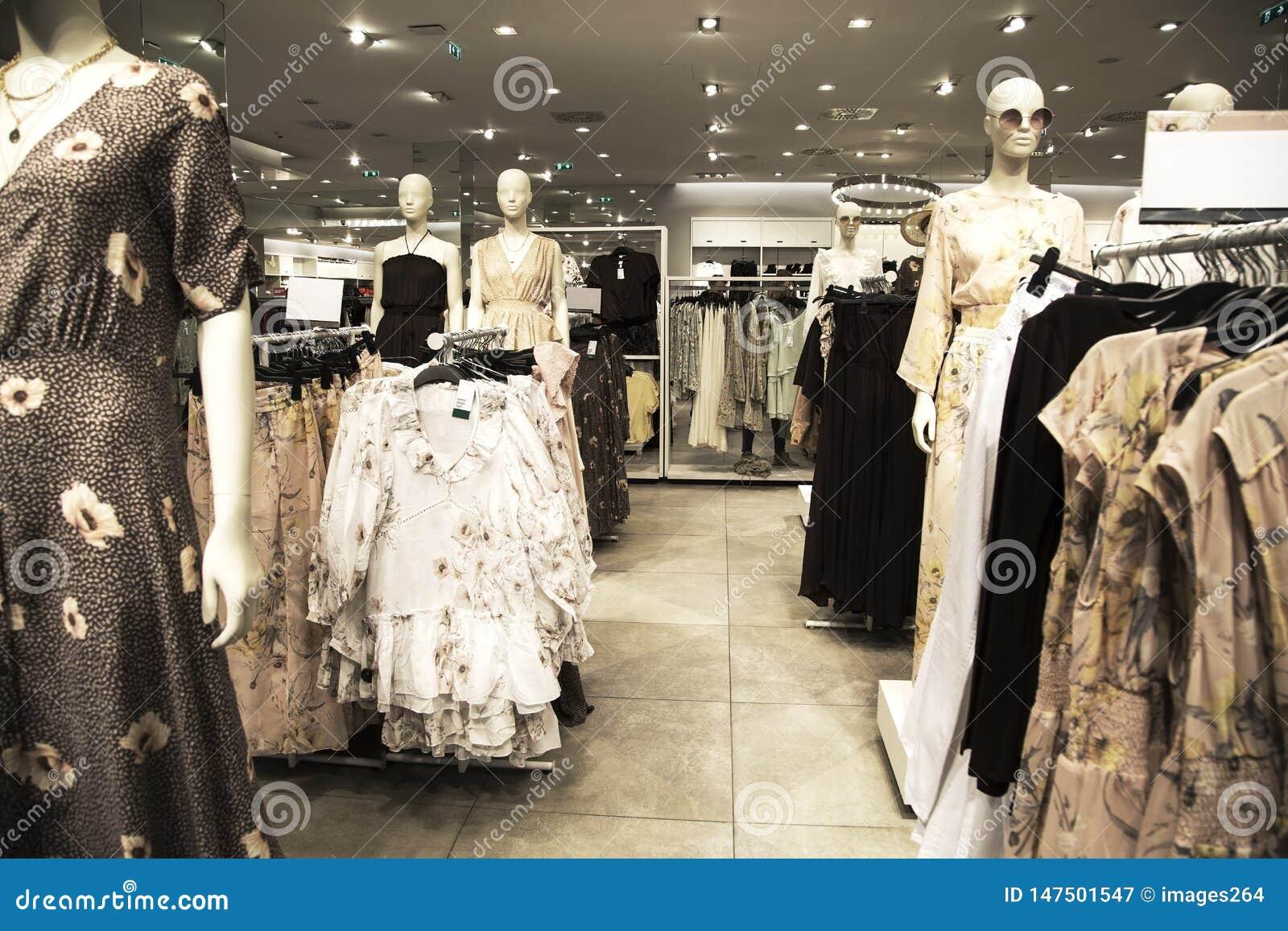 Kleidungsshop