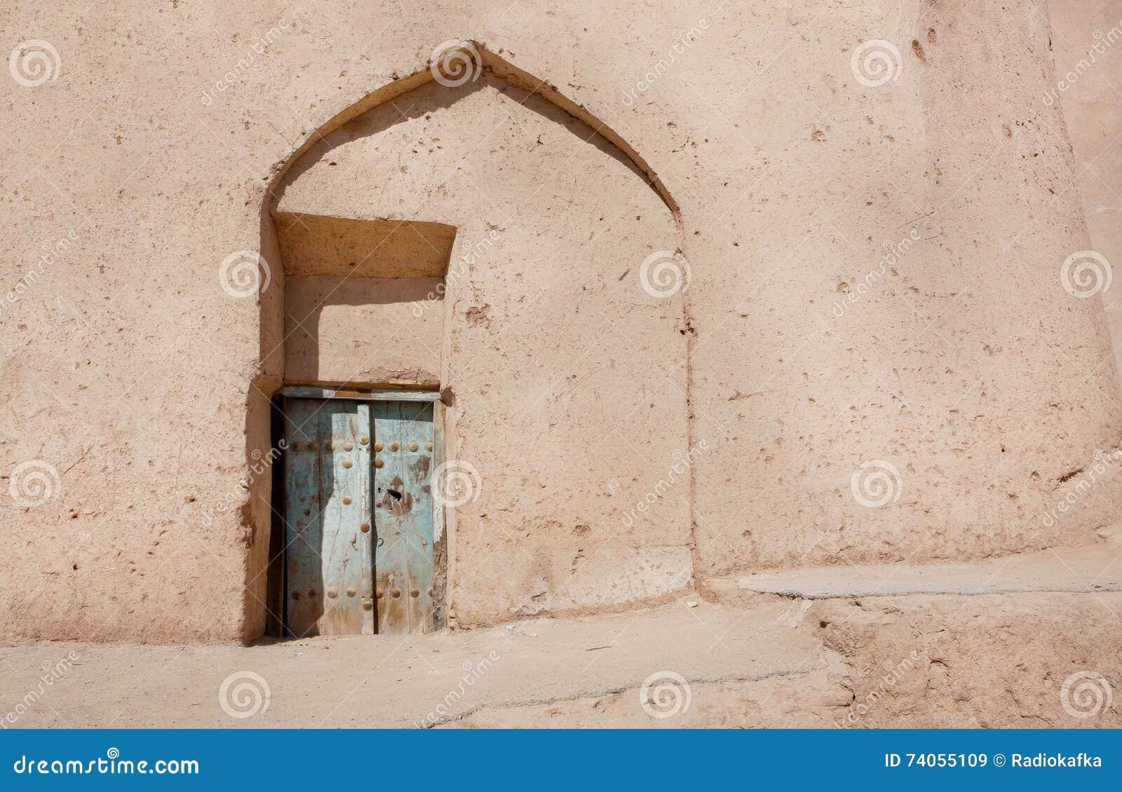 Kleimuren van slecht huis in midden oosten perzische architectuur stock foto afbeelding 74055109 - Foto huis in l ...