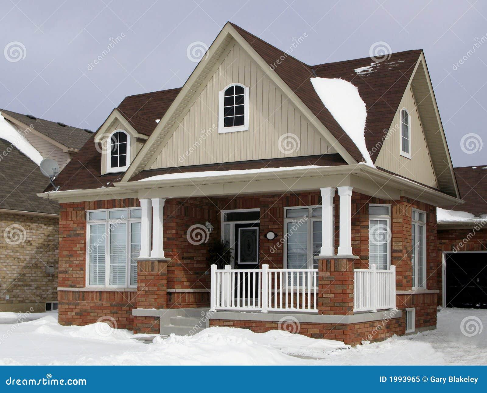 Klein Huis In de voorsteden