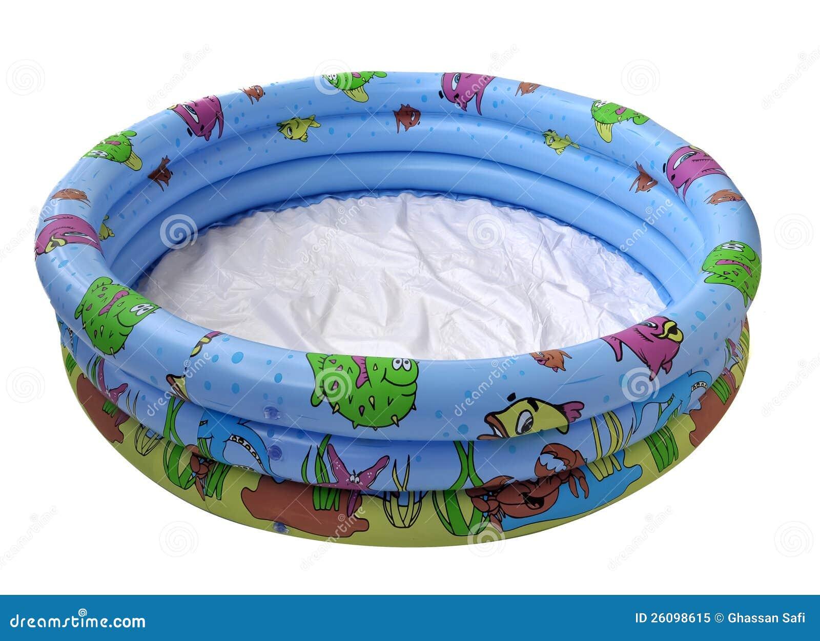 Klein zwembad stock afbeelding afbeelding bestaande uit for Klein opblaasbaar zwembad