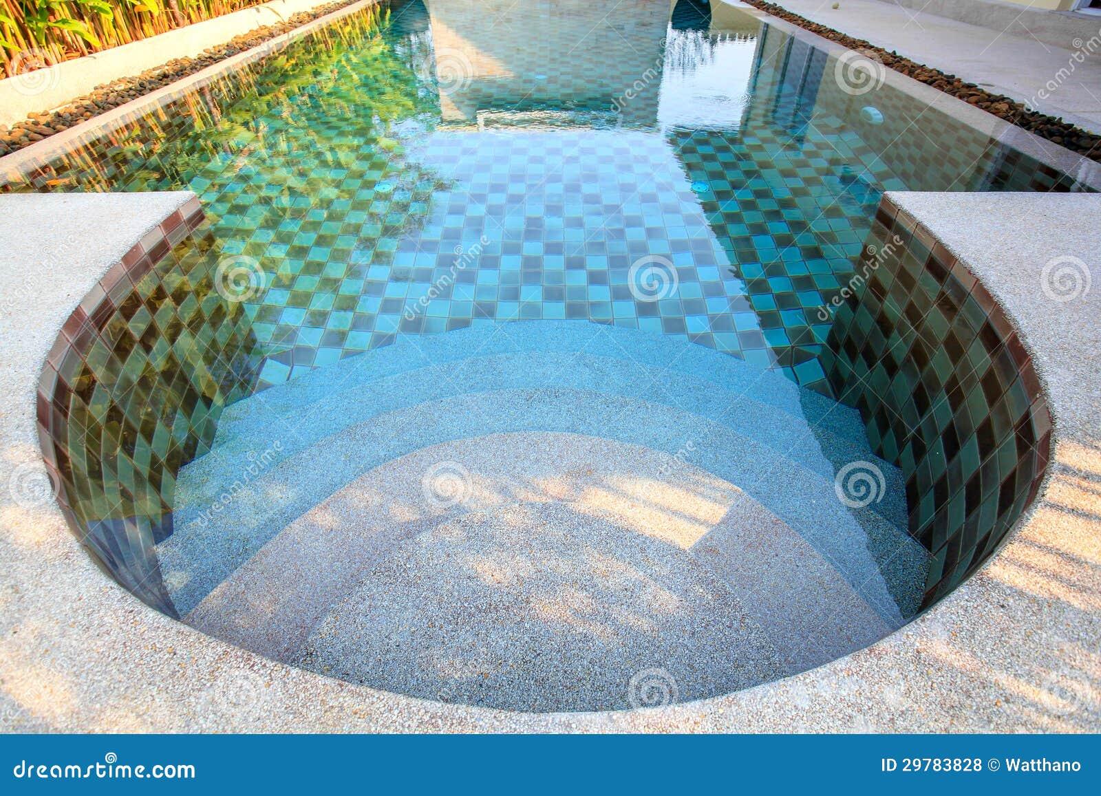 Klein zwembad in een yard royalty vrije stock foto 39 s afbeelding 29783828 - Klein natuurlijk zwembad ...
