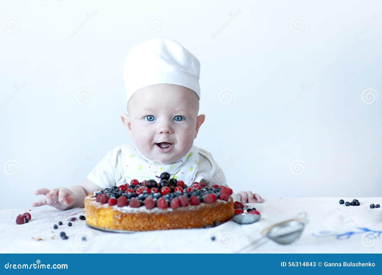 Kleine babybanketbakker