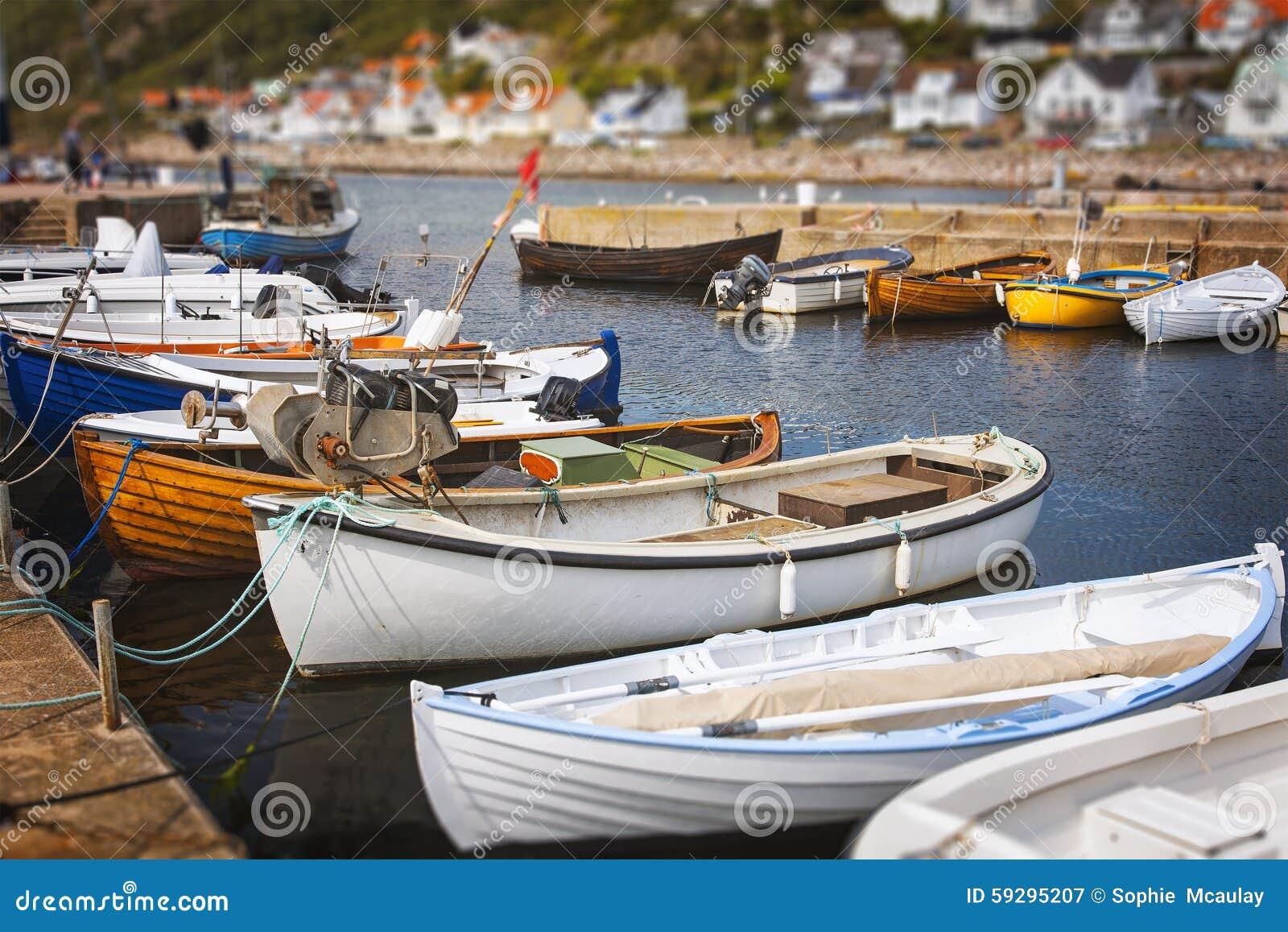 Kleine Fischerboote