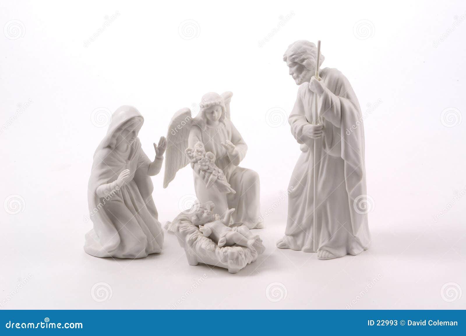 Kleine Geburt Christi-Szene
