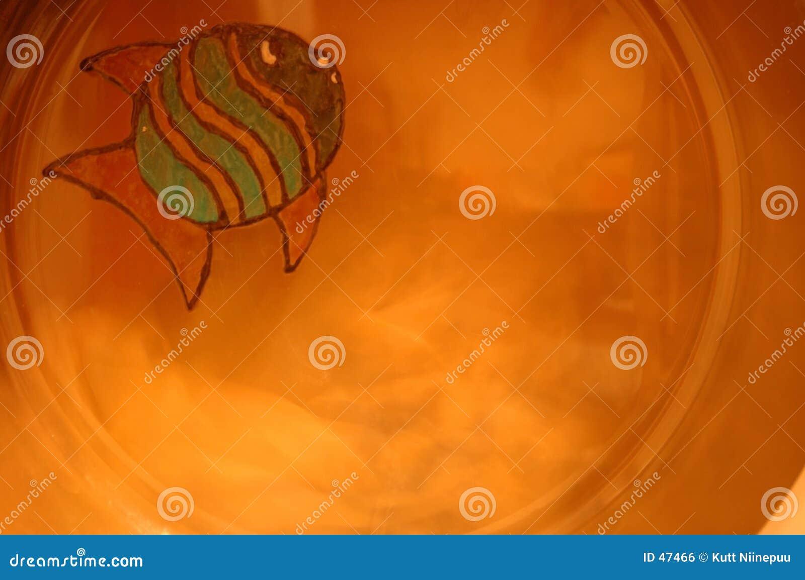 Kleine gezeichnete Fische