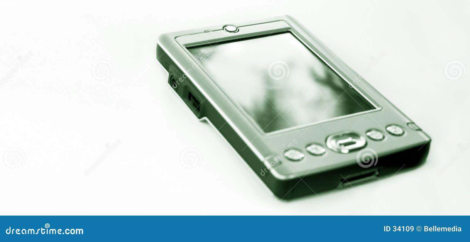 Kleine hand - gehouden computer