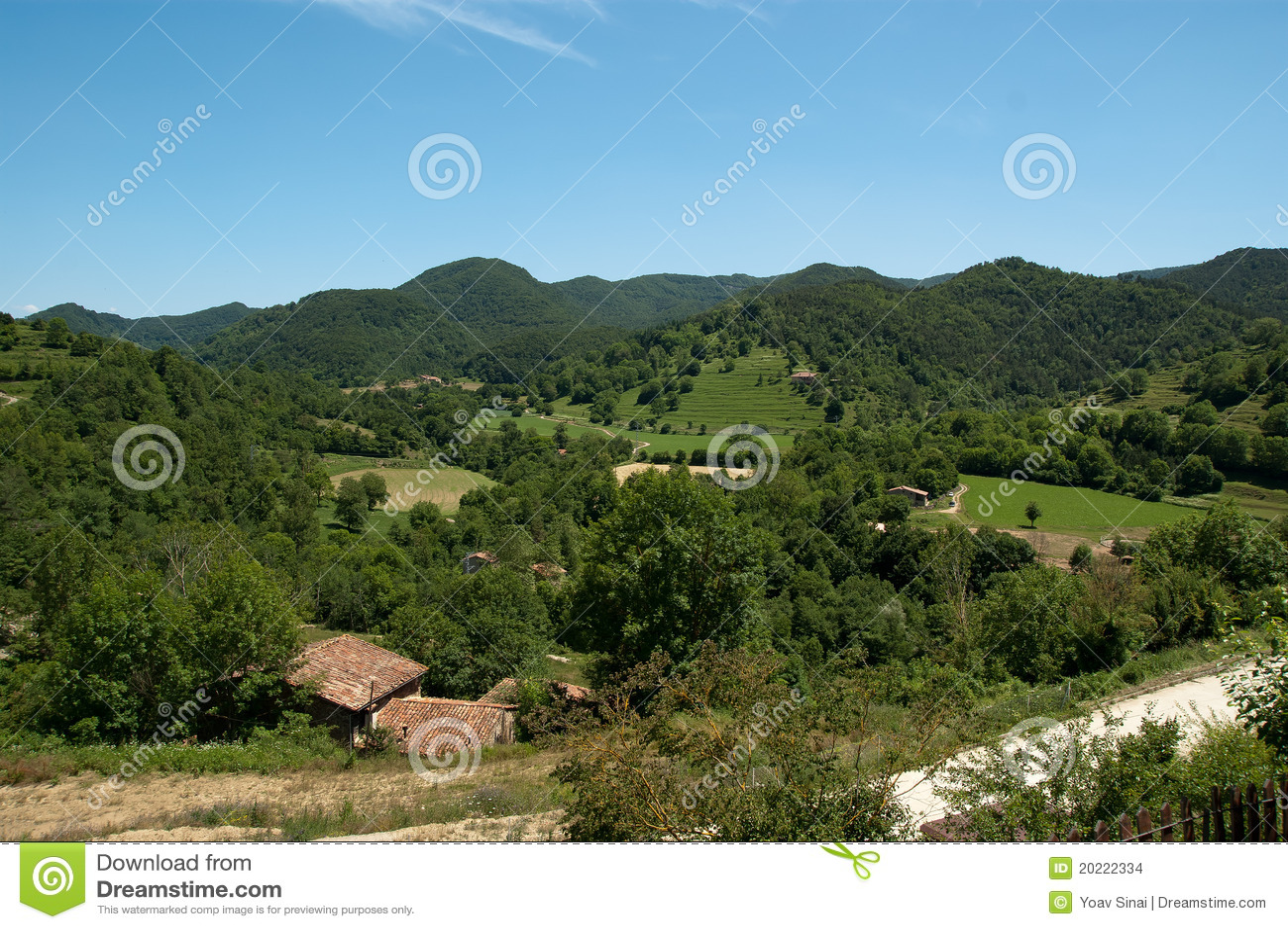 Kleine landbouwbedrijven in de Pyreneeën