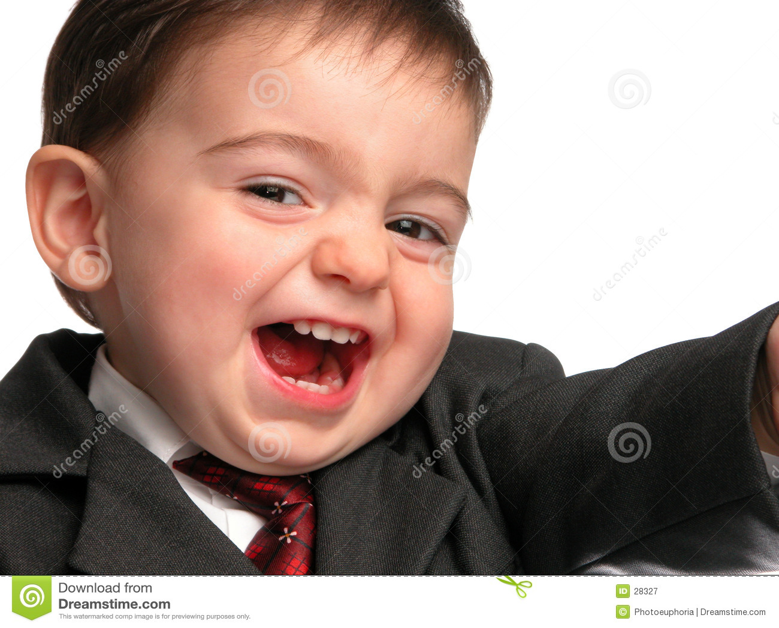Kleine Mann-Serie: Verkäufer-Lächeln