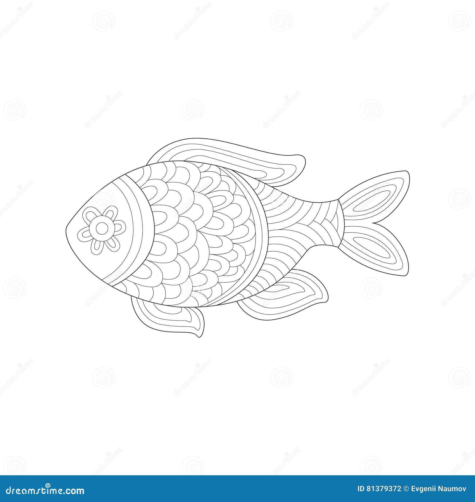 Tolle Malbuch Fisch Bilder - Malvorlagen Von Tieren - ngadi.info