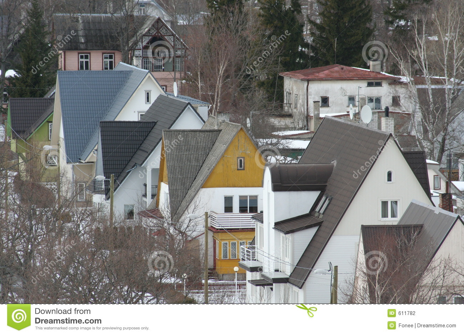 Kleine stadshuizen
