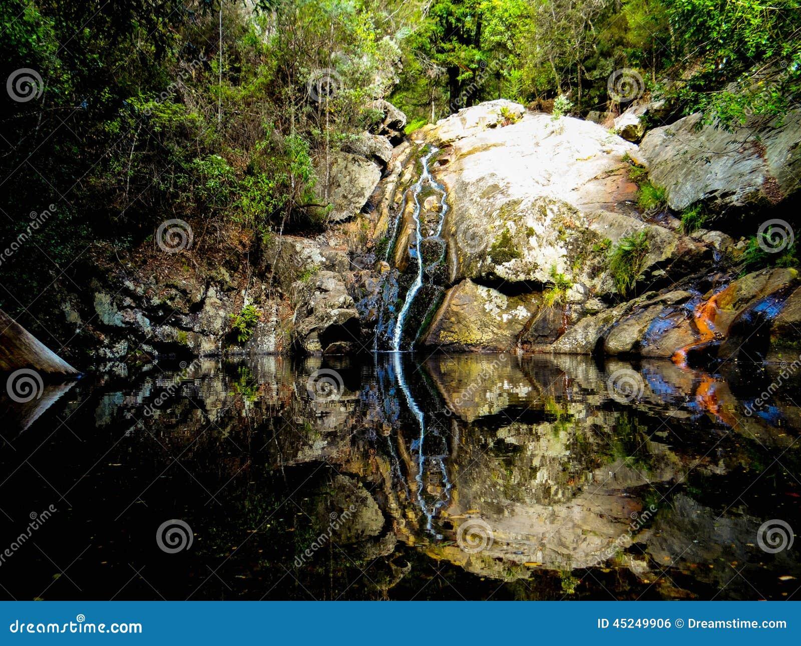 Kleine watervallen