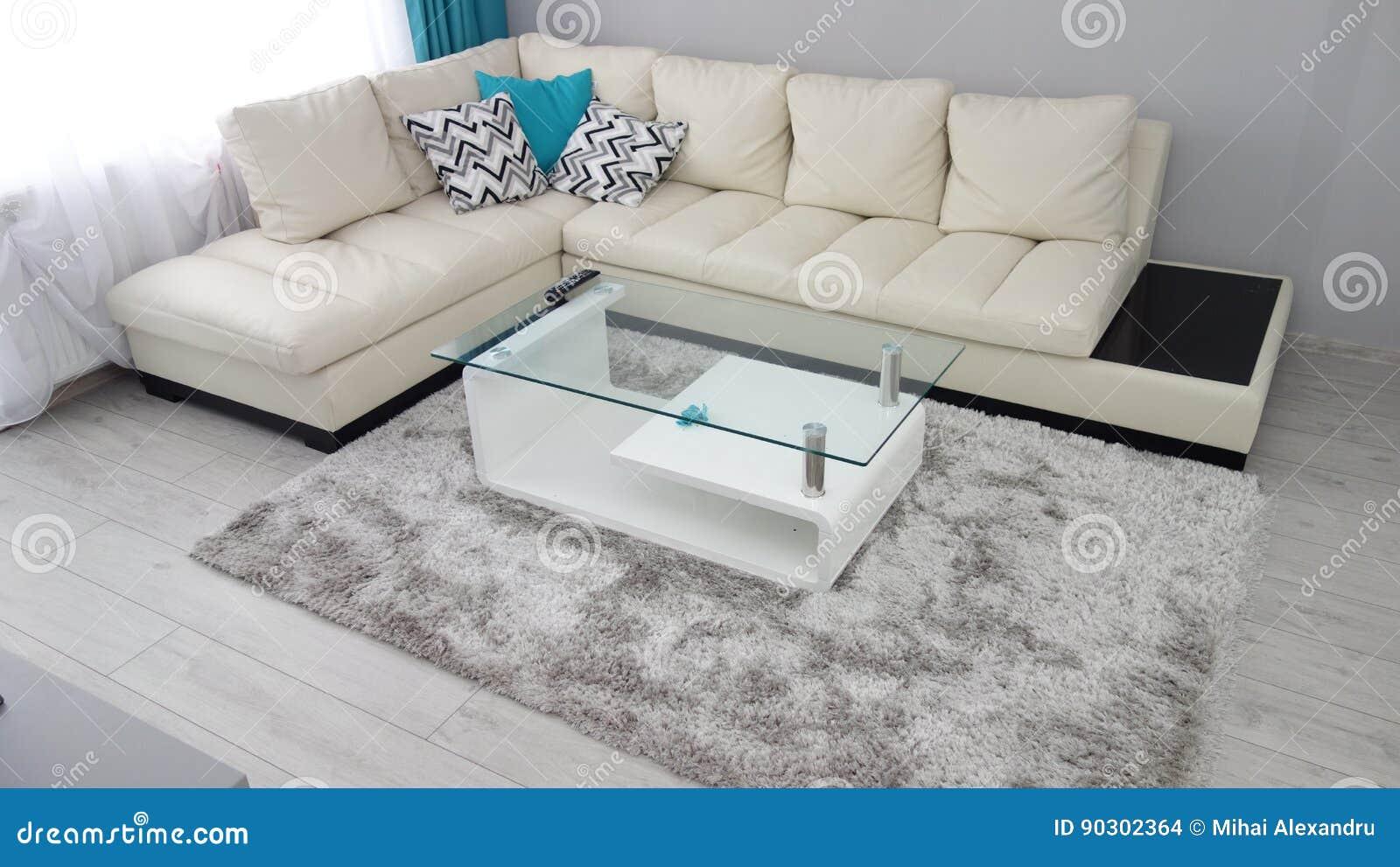 Kleine Wohnungswohnzimmer-Designidee, Ledercouch, Umkleidekabine ...