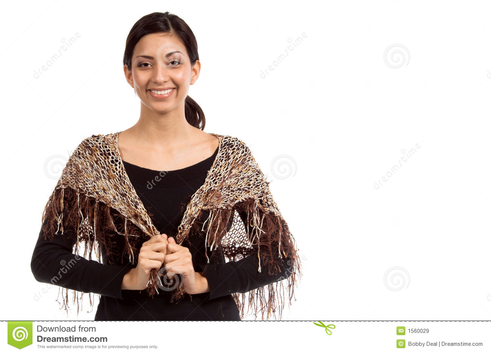 Kleiner Couture-Schal