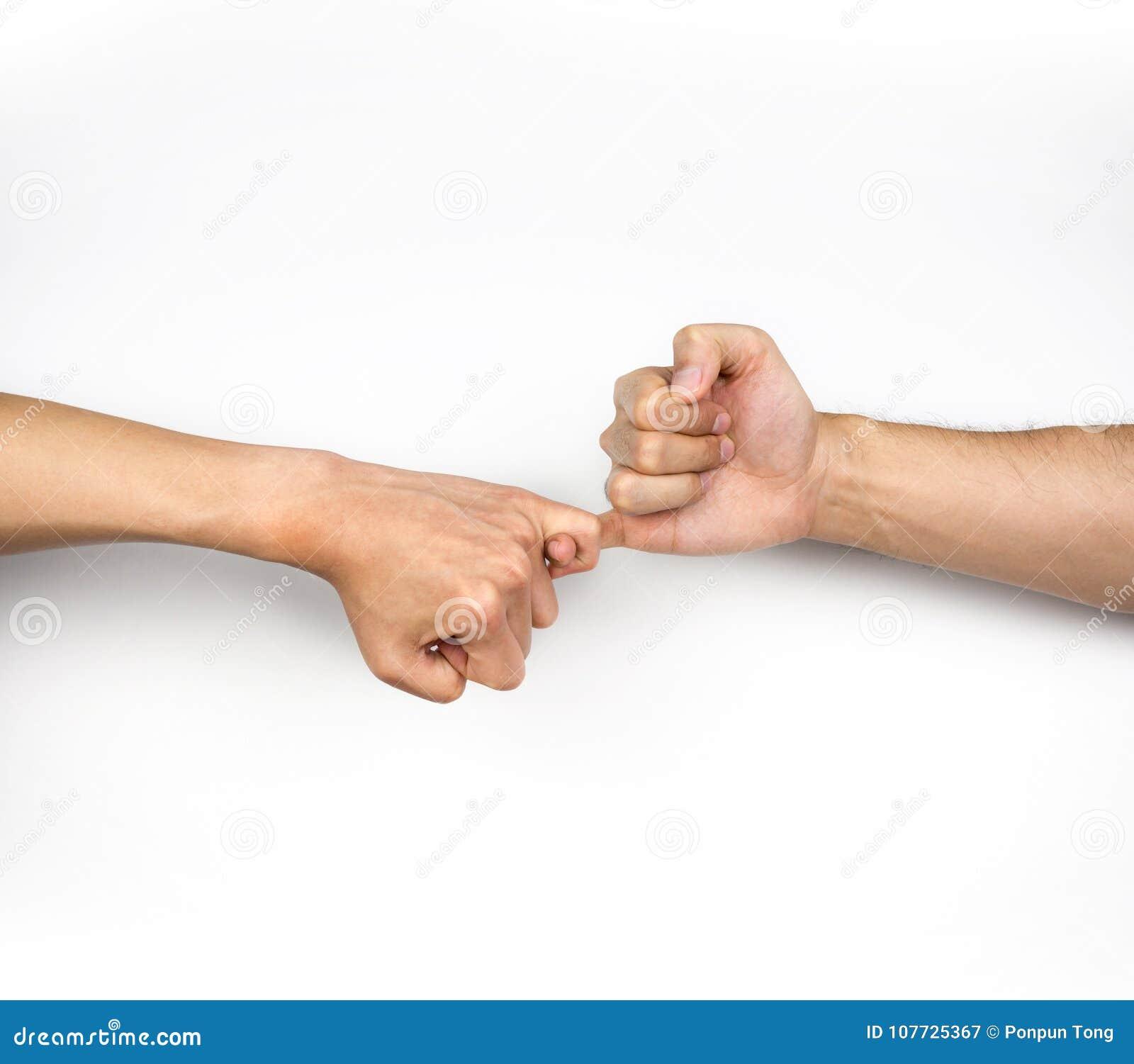 Kleiner finger daumen handzeichen Handzeichen Bedeutung