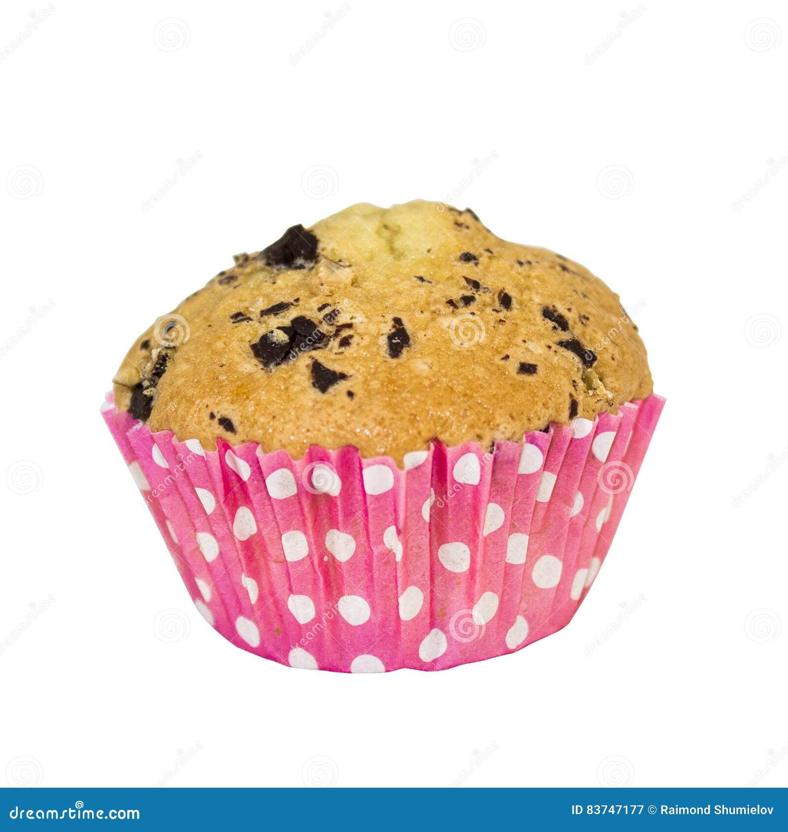 Kleiner Kuchen Im Rosa Backenformbild Mit Beschneidungspfad