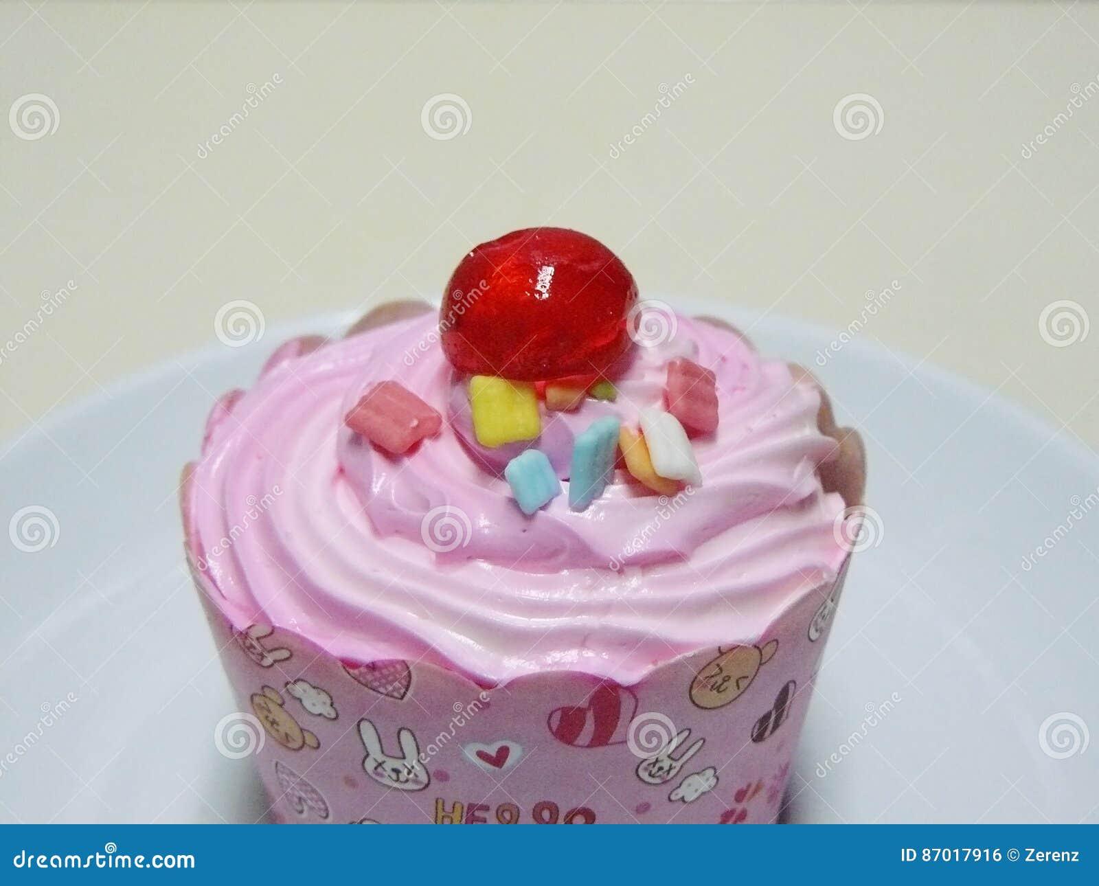 Kleiner Kuchen Prinzessin Pink Stockfoto Bild Von Prinzessin Nett