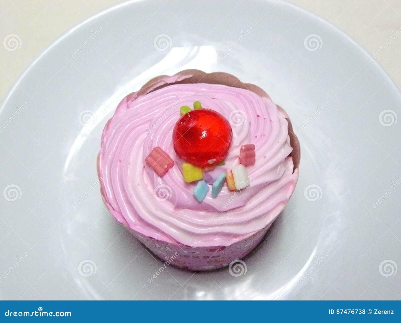 Kleiner Kuchen Prinzessin Pink