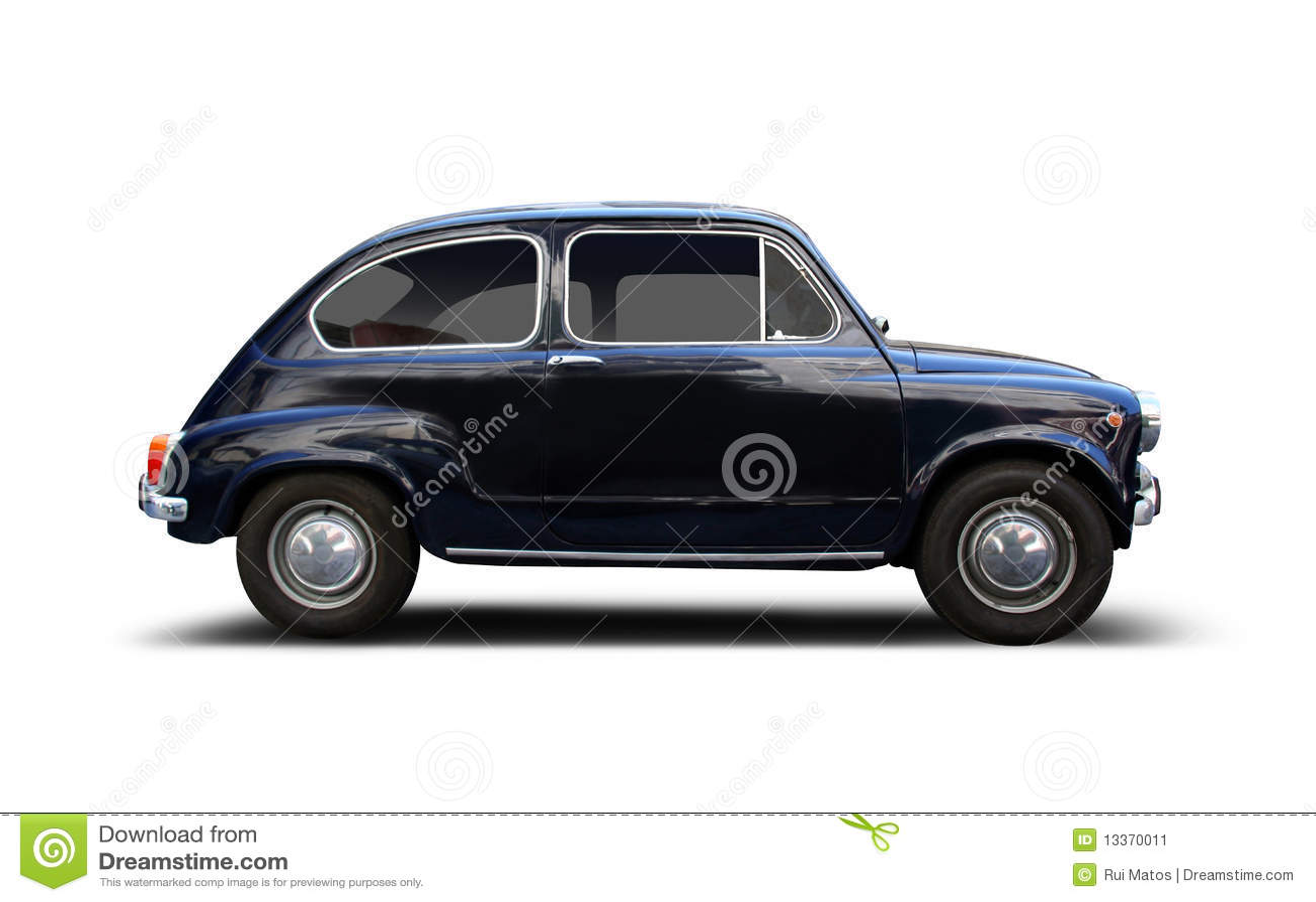 kleines auto stockbild bild von wei st dtisch schwarzes 13370011. Black Bedroom Furniture Sets. Home Design Ideas