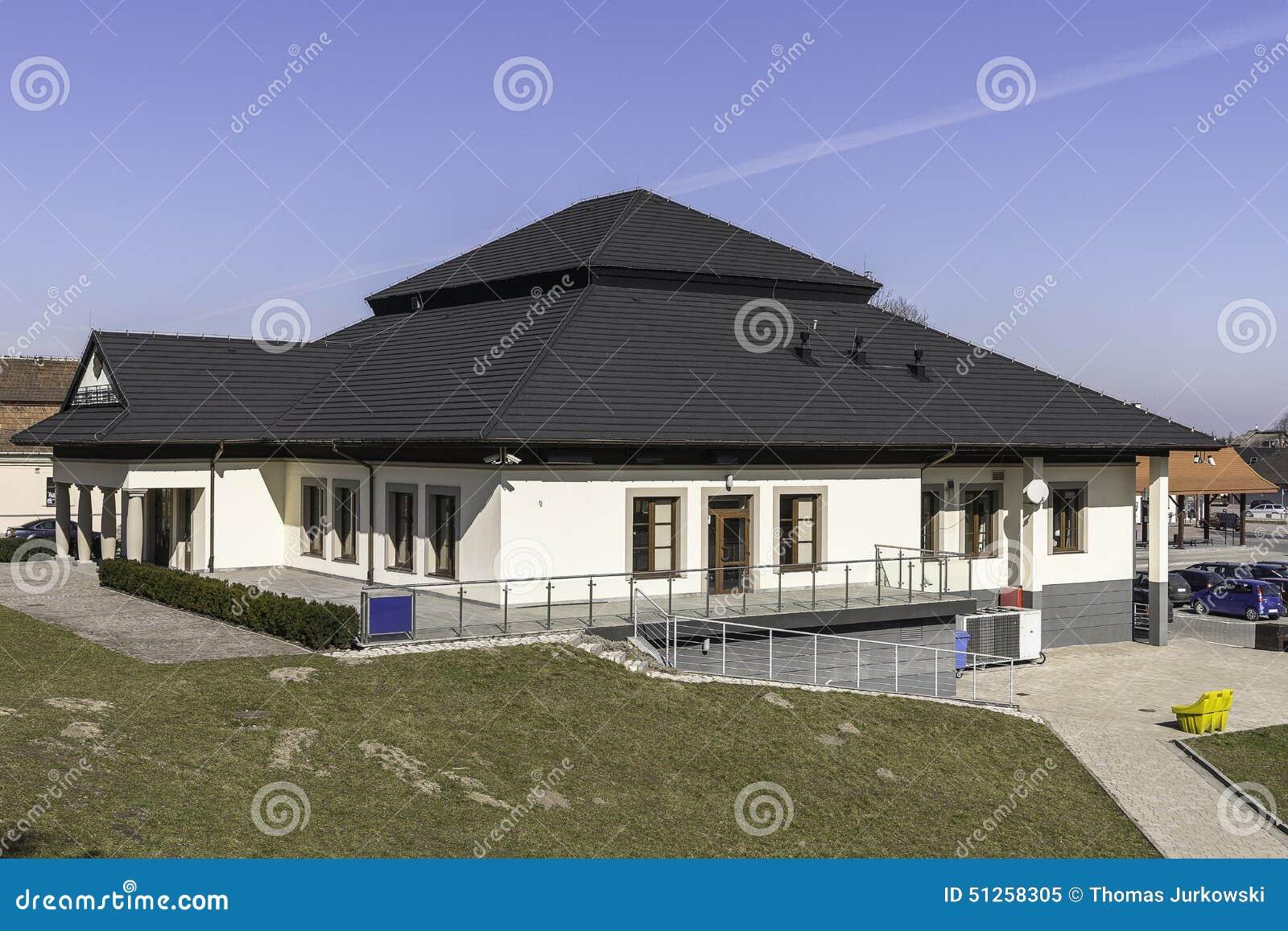 Kleines Burohaus Stockbild Bild Von Burohaus Kleines 51258305