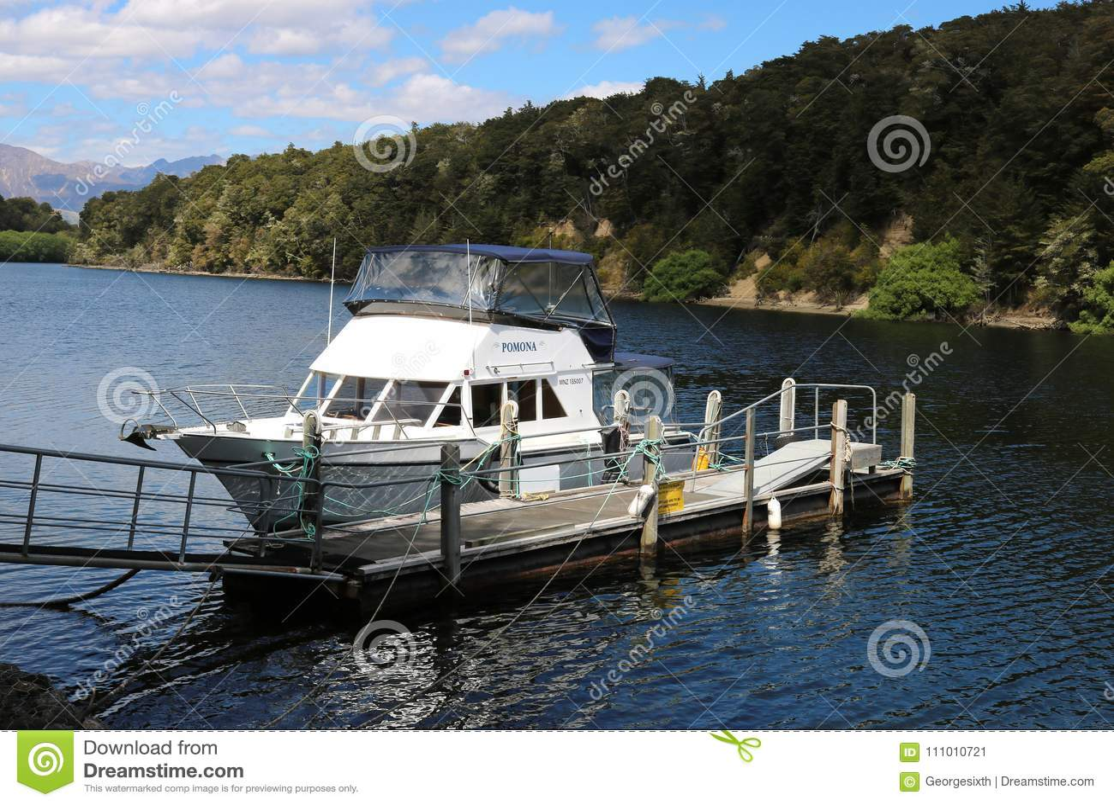 Kleines Boot, Pearl Harbor, Waiau-Fluss, Manapouri