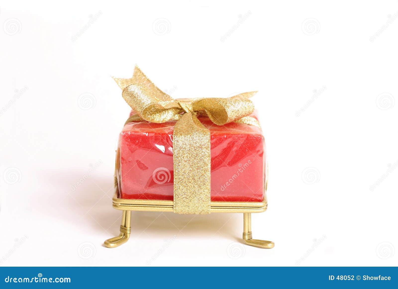 Kleines eingewickeltes Geschenk