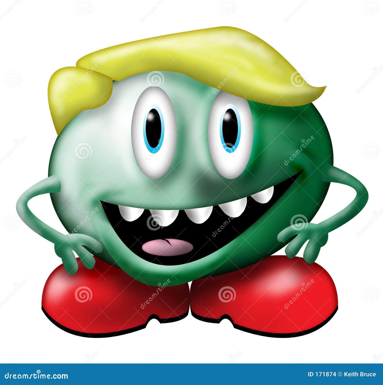 Kleines grünes Monster
