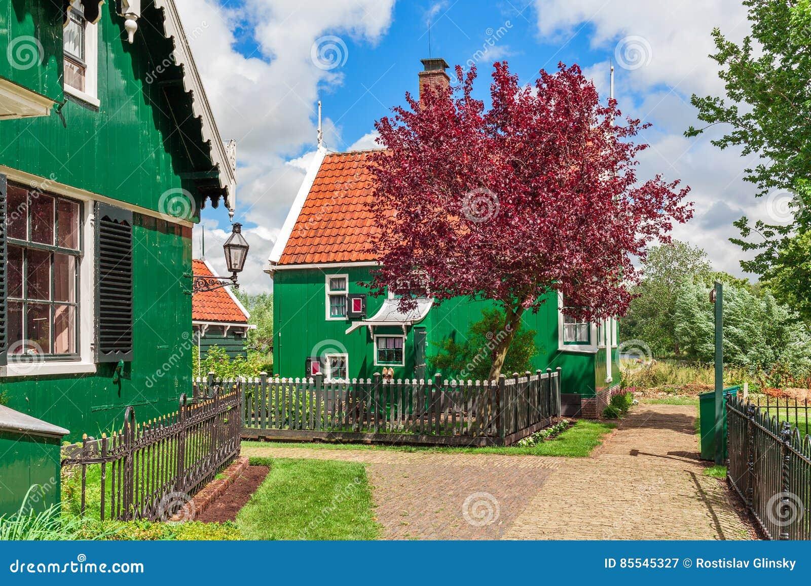 Kleines holländisches Dorf