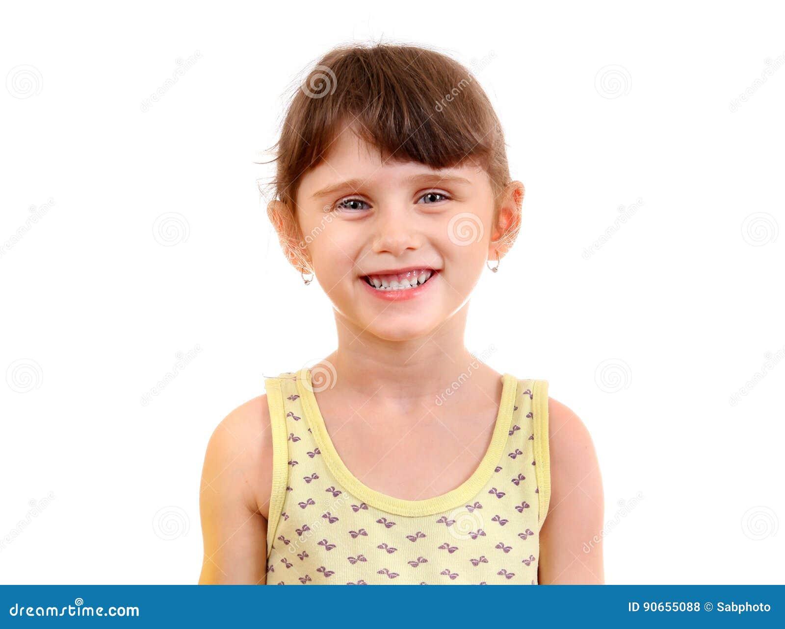 Kleines Mädchen-Portrait