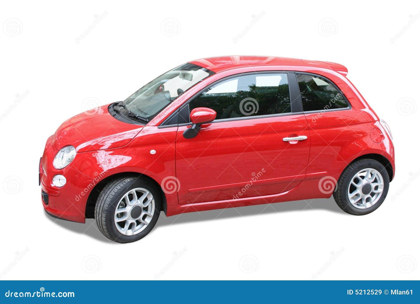 kleines rotes auto stockbild bild von transport auto 5212529. Black Bedroom Furniture Sets. Home Design Ideas