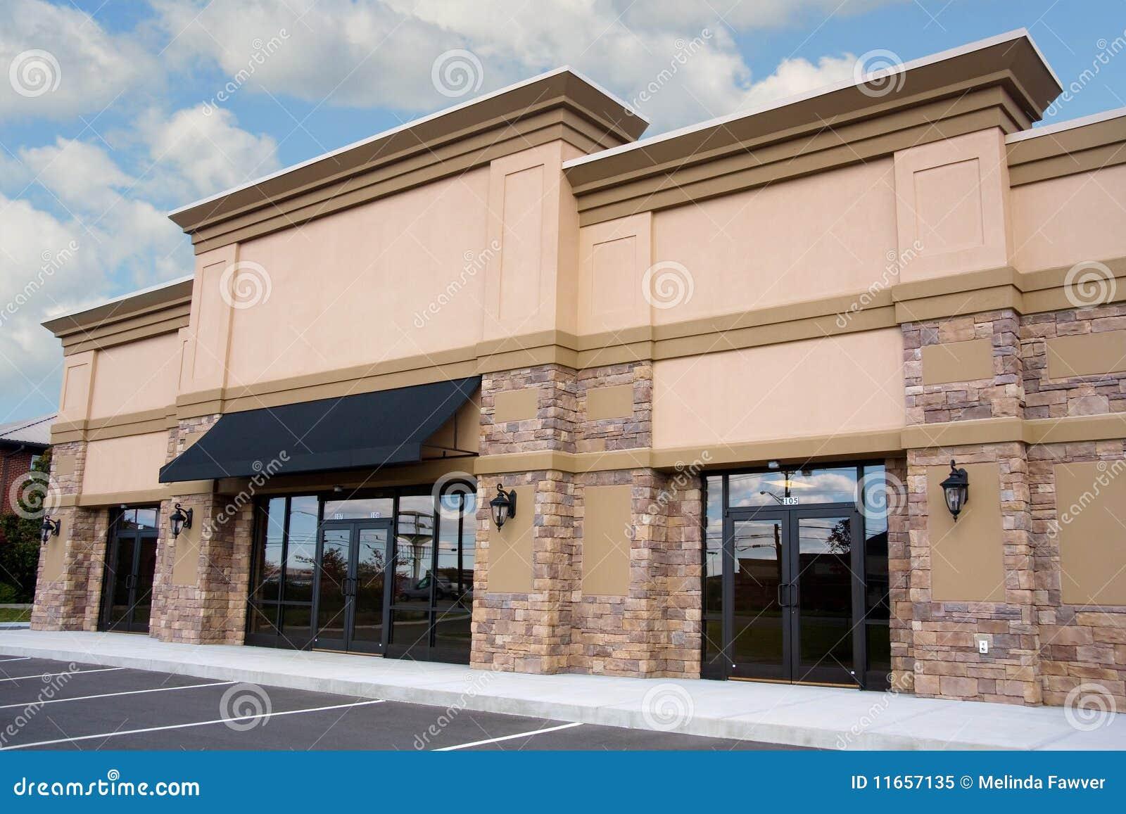 Kleinhandels Storefront