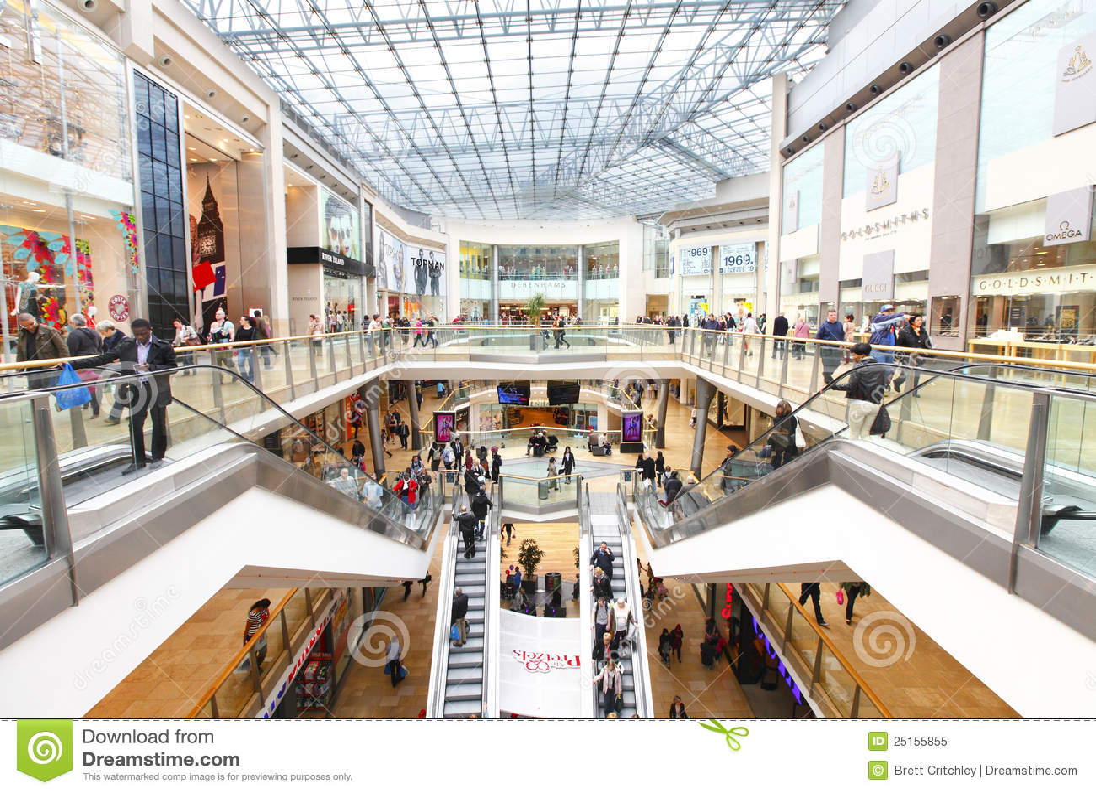 Kleinhandels winkelcomplex