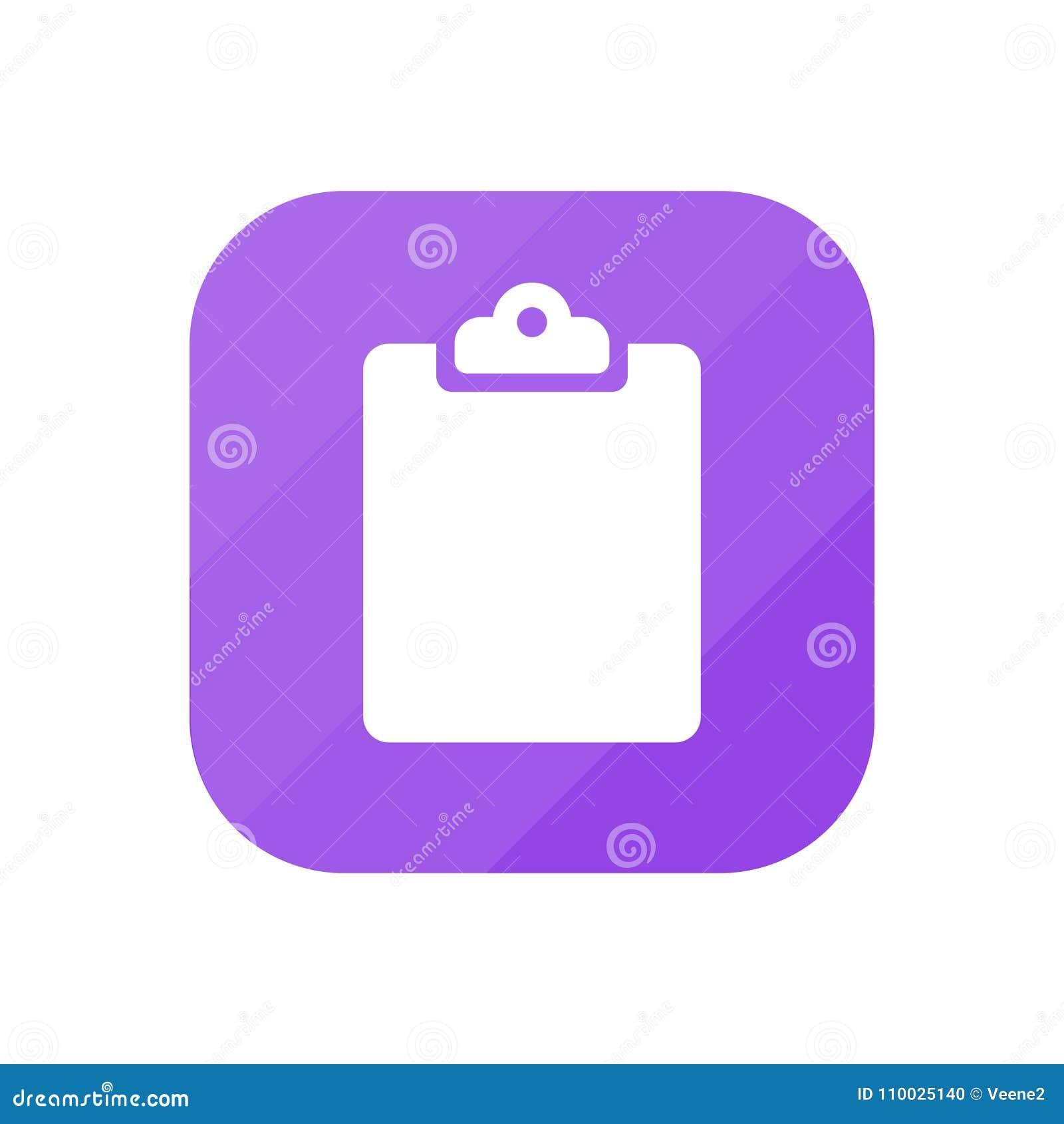 Klembord - App Pictogram