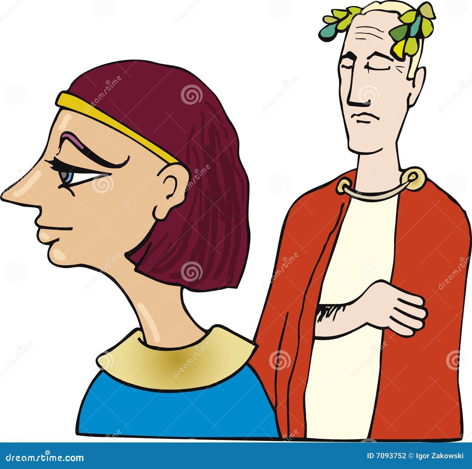Kleopatra Und Caesar