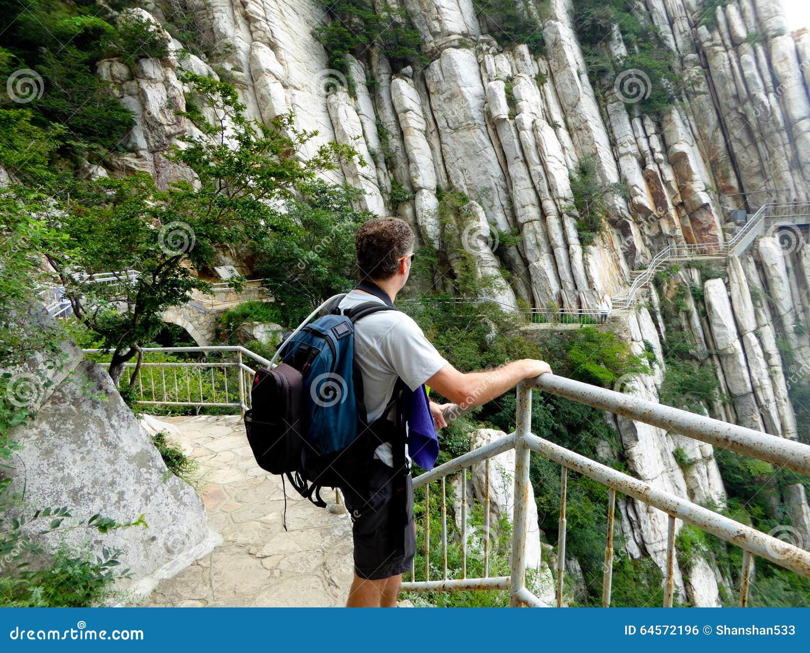 Kletternder Songshan