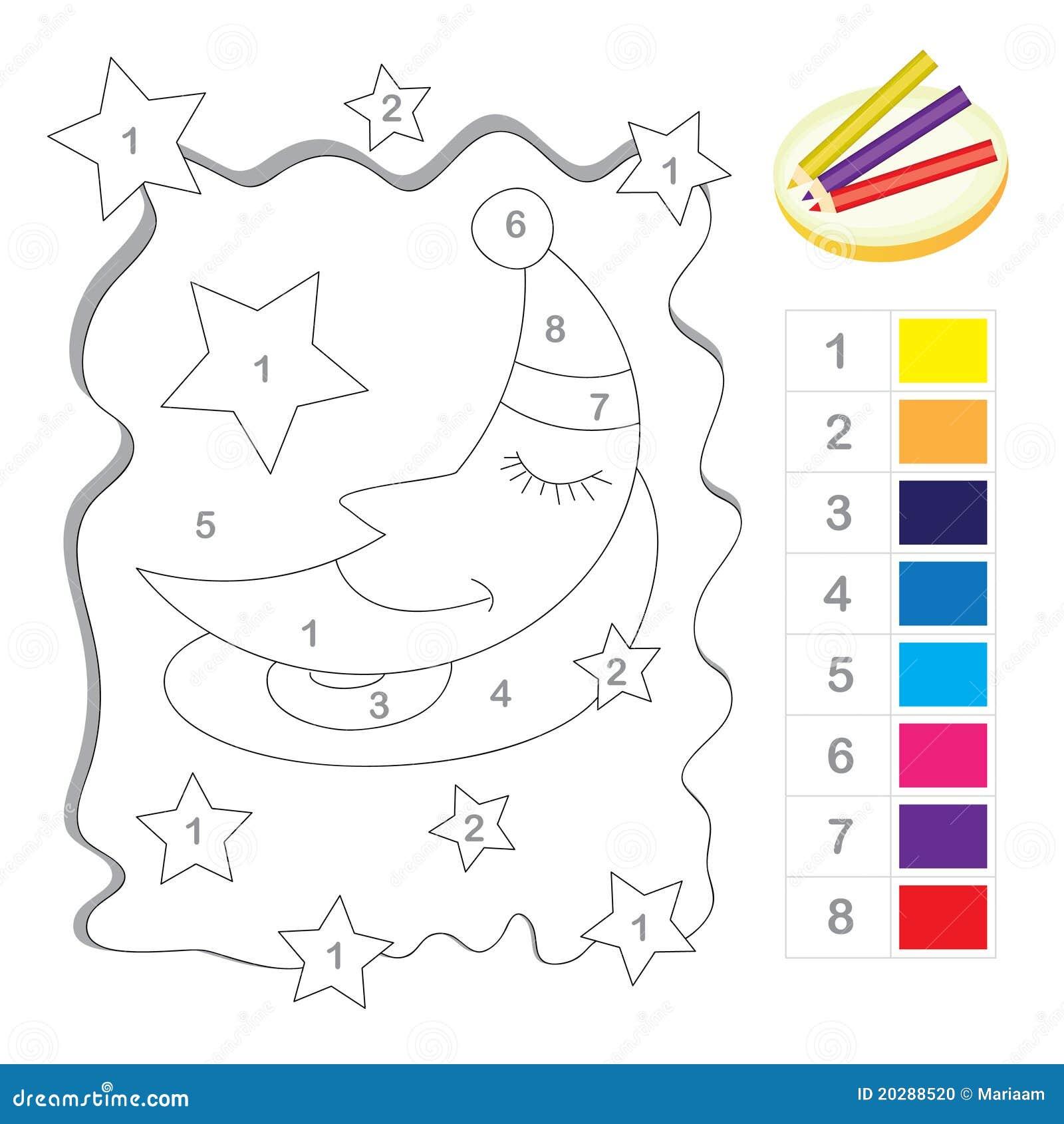 Kleur door aantalspel