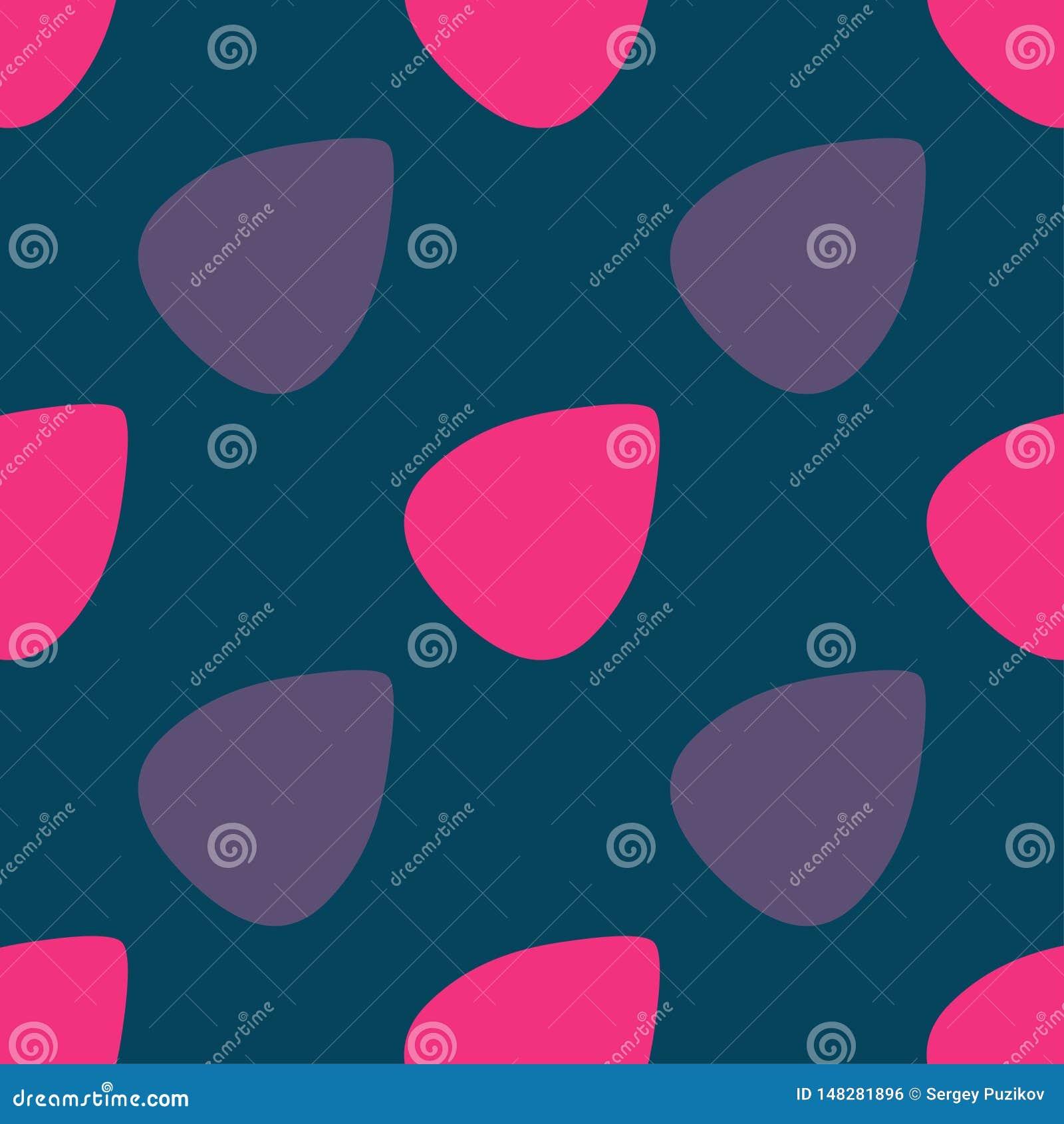 Kleuren naadloos patroon met de Vectorillustratie van gitaaroogsten