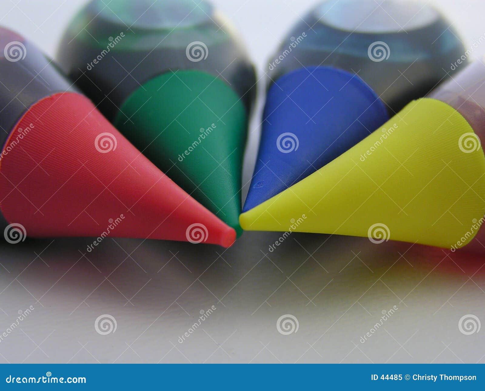 Download Kleuren van diversiteit 2 stock afbeelding. Afbeelding bestaande uit kleuring - 44485
