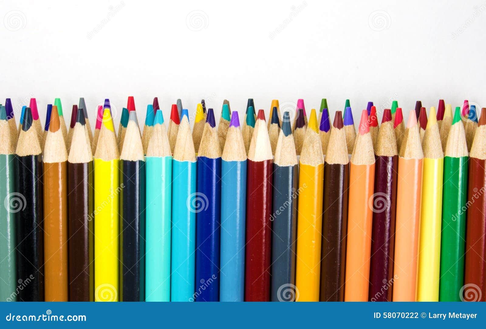 Kleurrijk Art Pencils