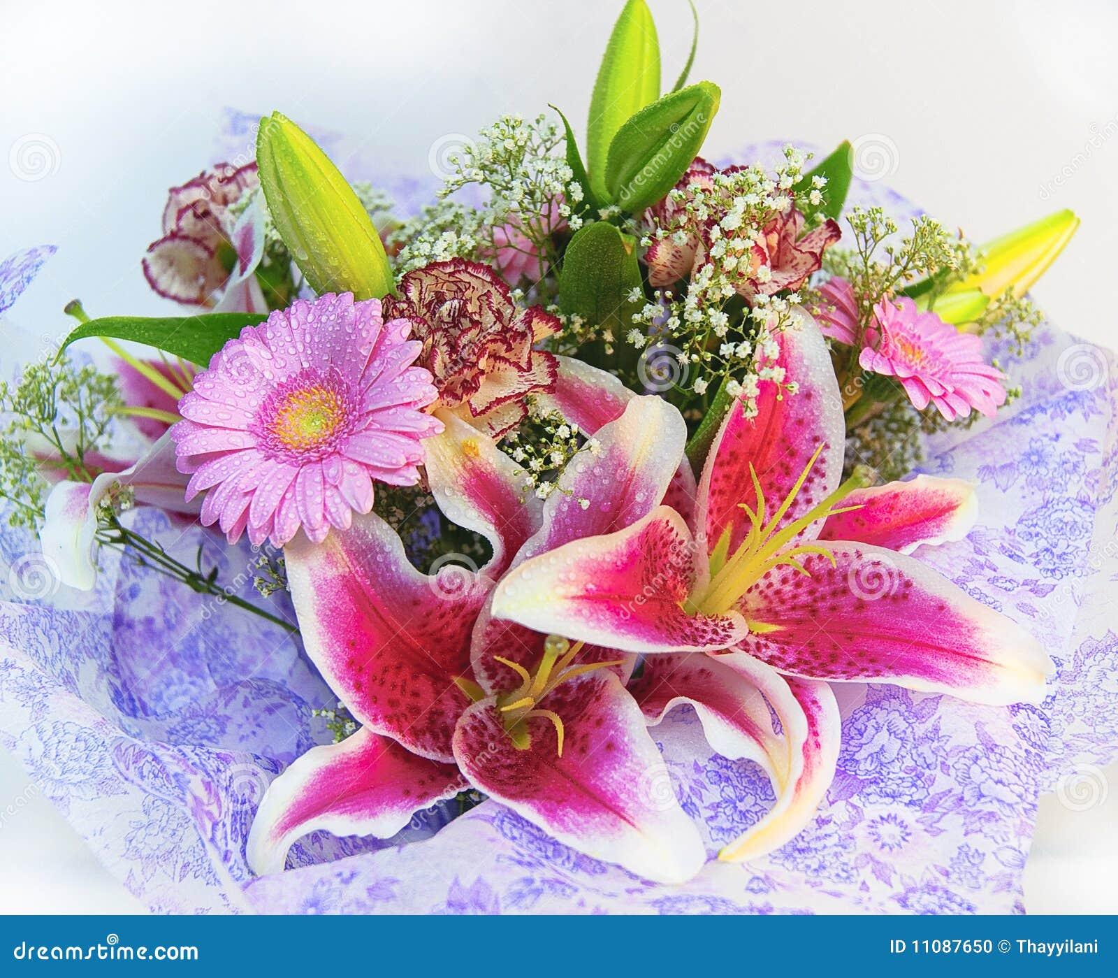 Kleurrijk bloemenboeket