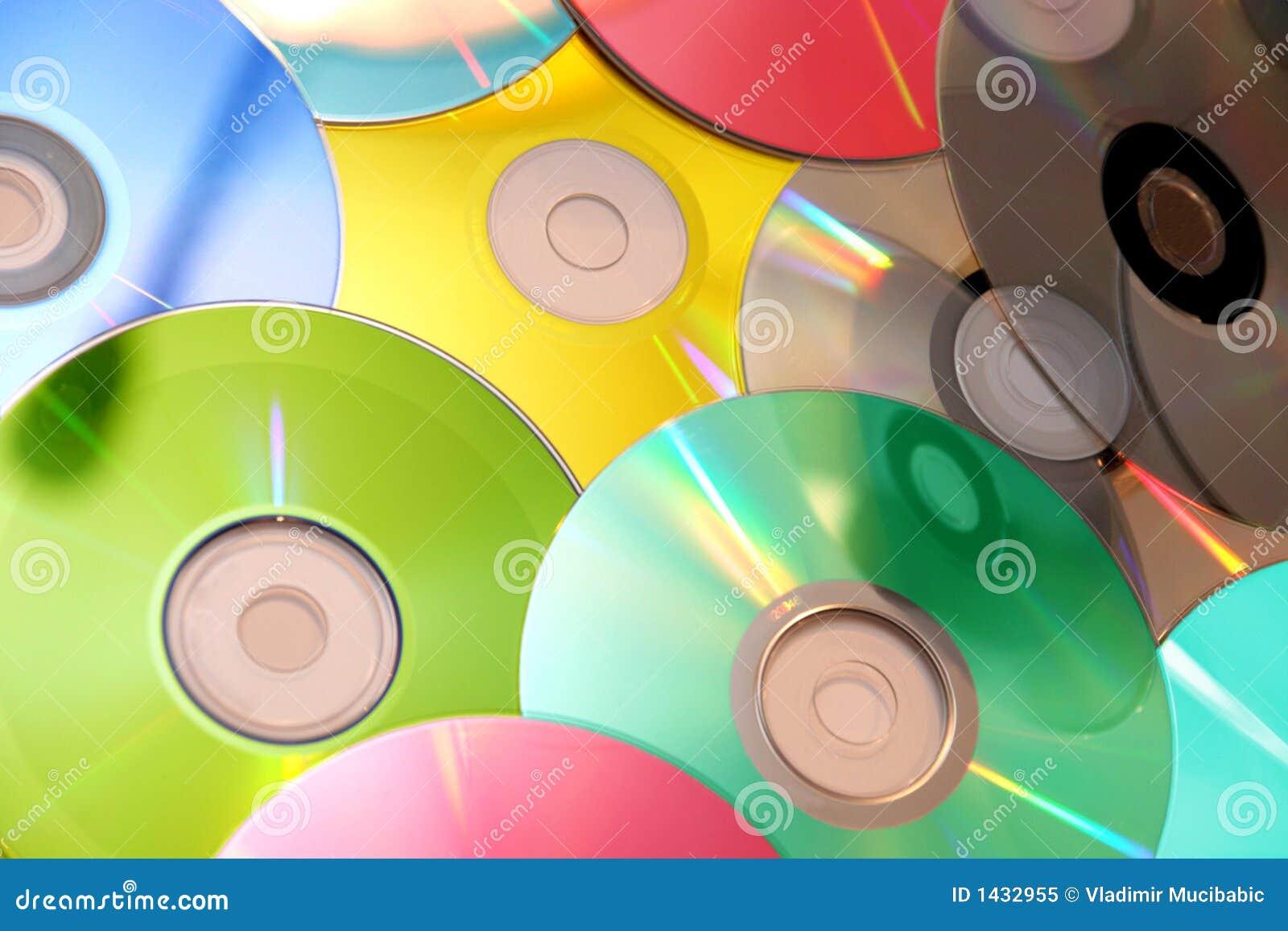 Kleurrijk CD