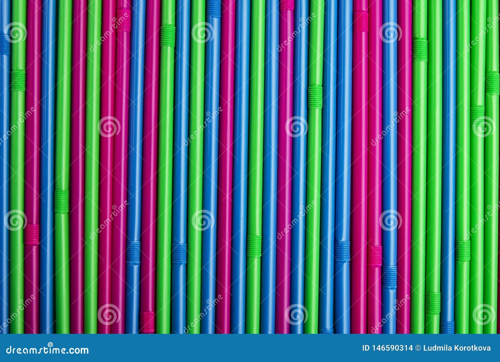 Kleurrijk het drinken stro