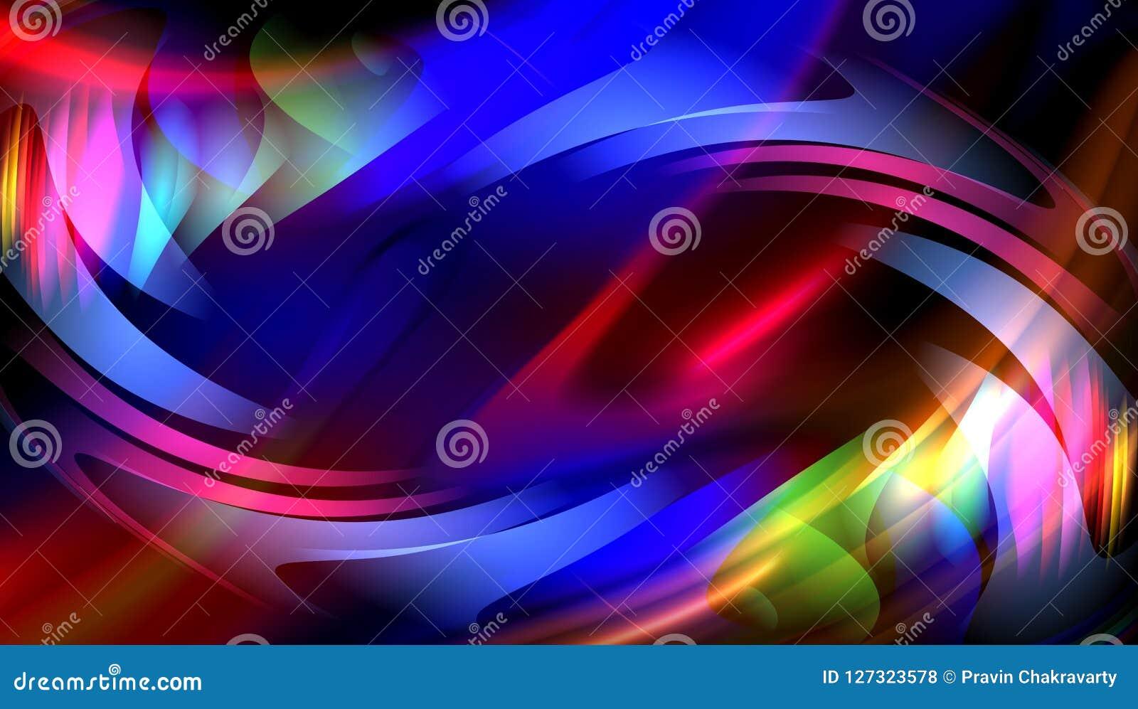 Kleurrijk onduidelijk beeld abstract vectorontwerp als achtergrond, kleurrijke vage in de schaduw gestelde achtergrond, levendige