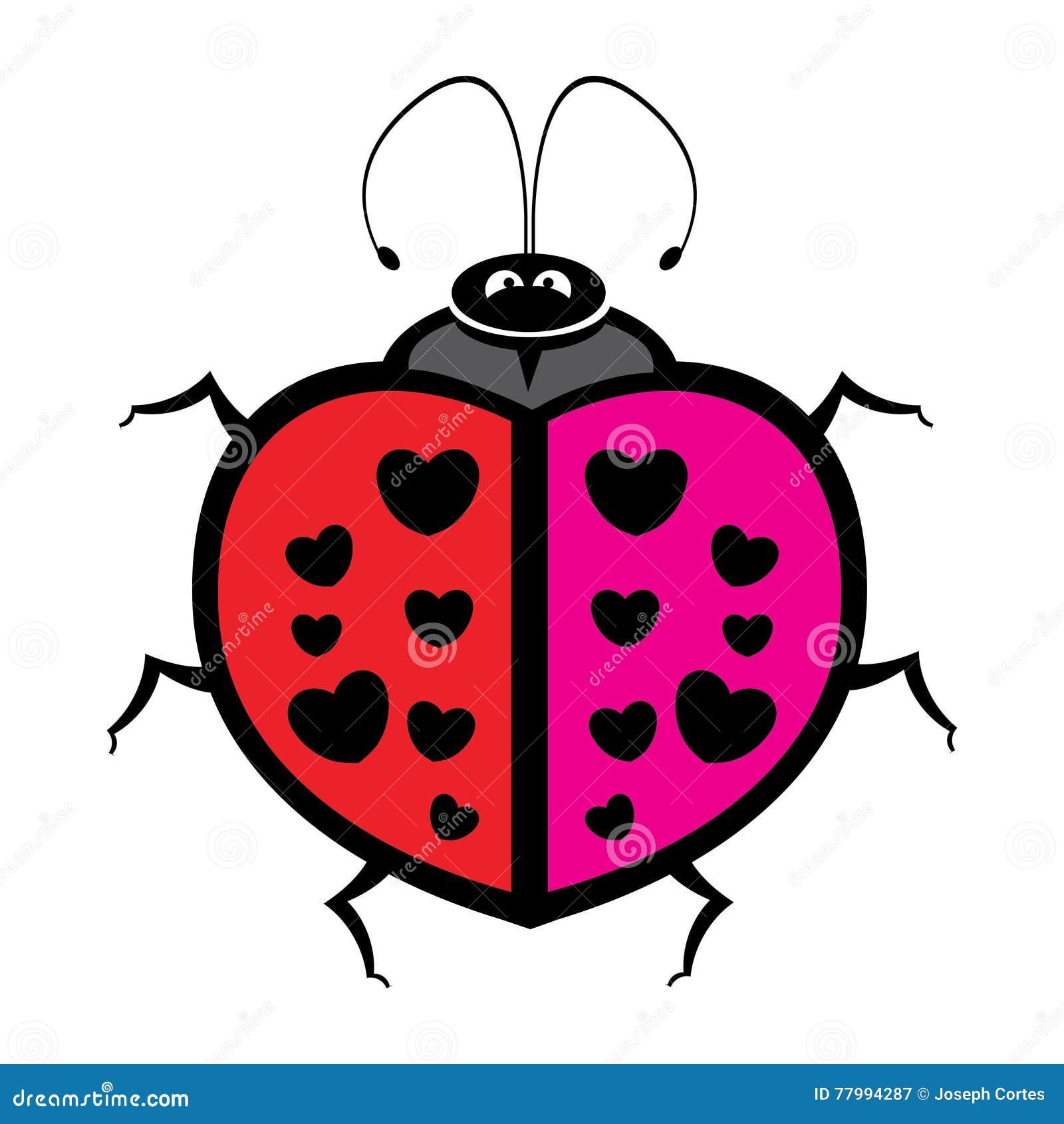 Kleurrijk pretlieveheersbeestje
