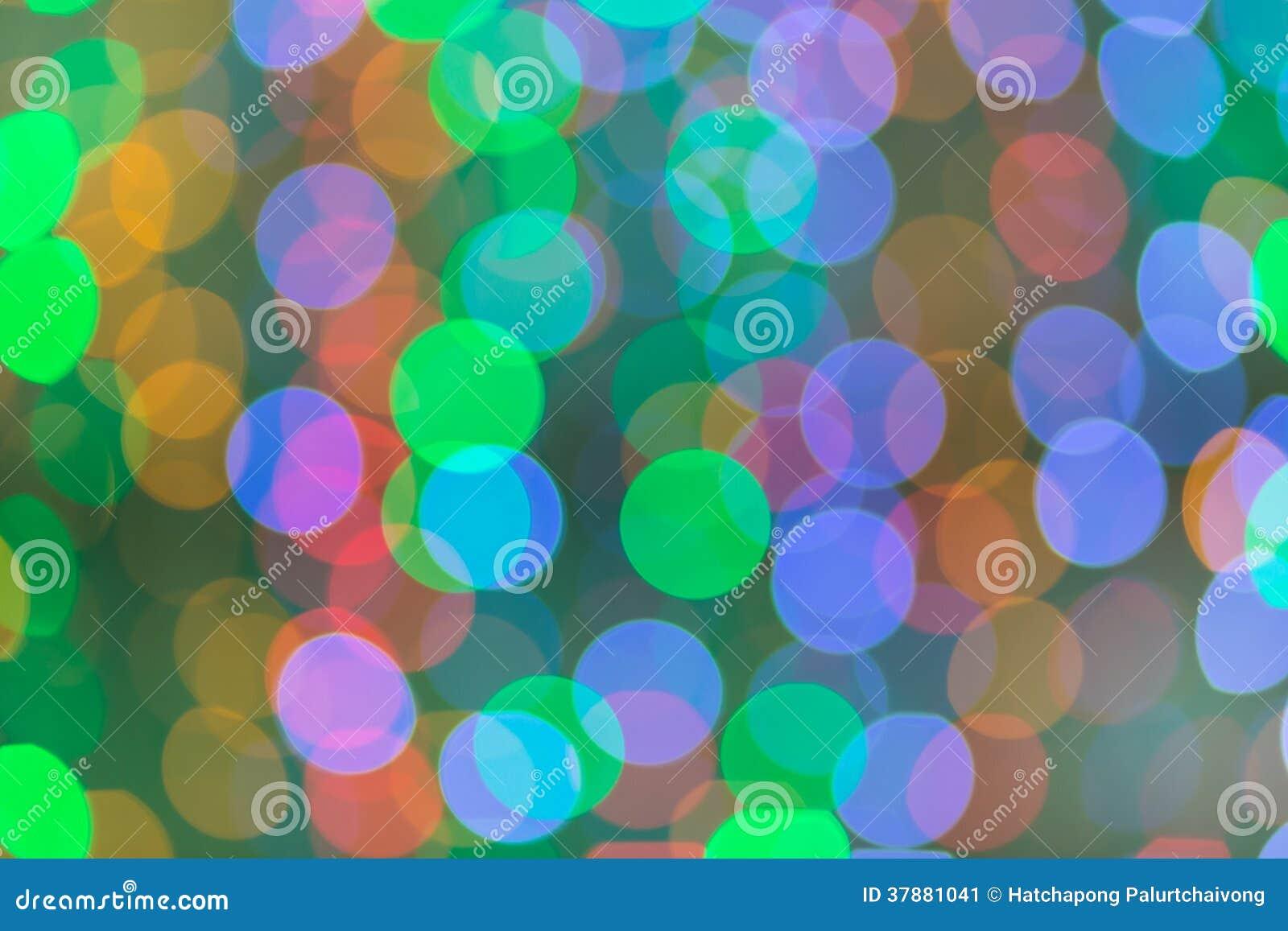 Kleurrijk van Bokeh 1