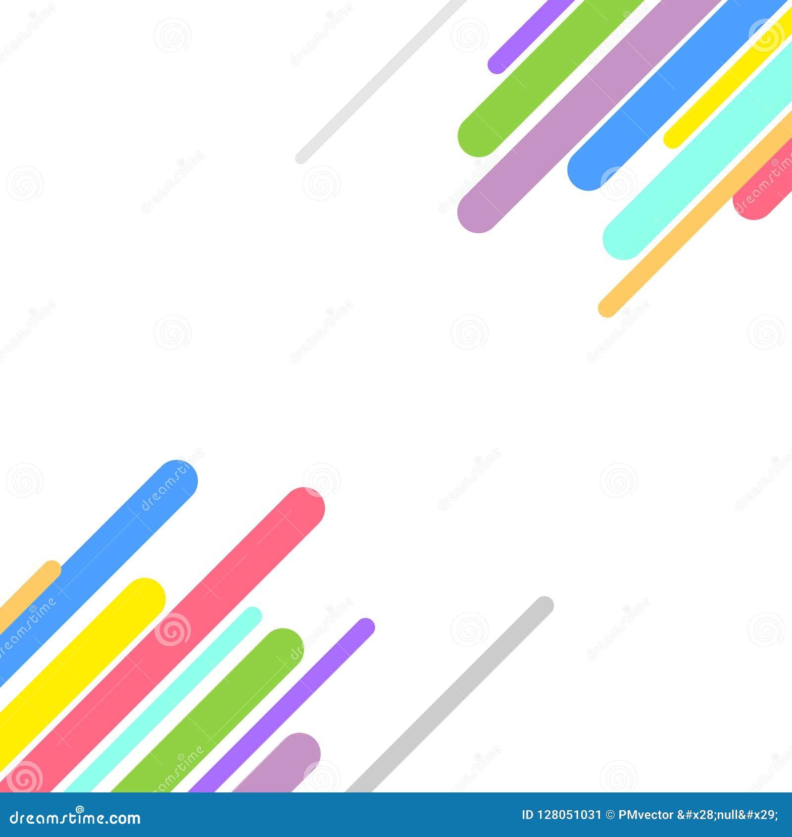 Kleurrijke abstracte vector achtergrondontwerpillustratie