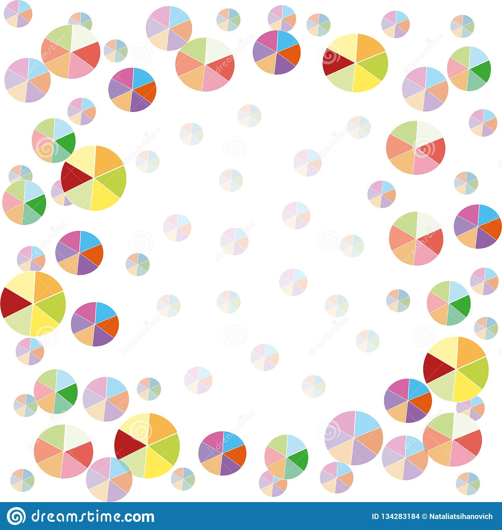 Kleurrijke ballonsachtergrond