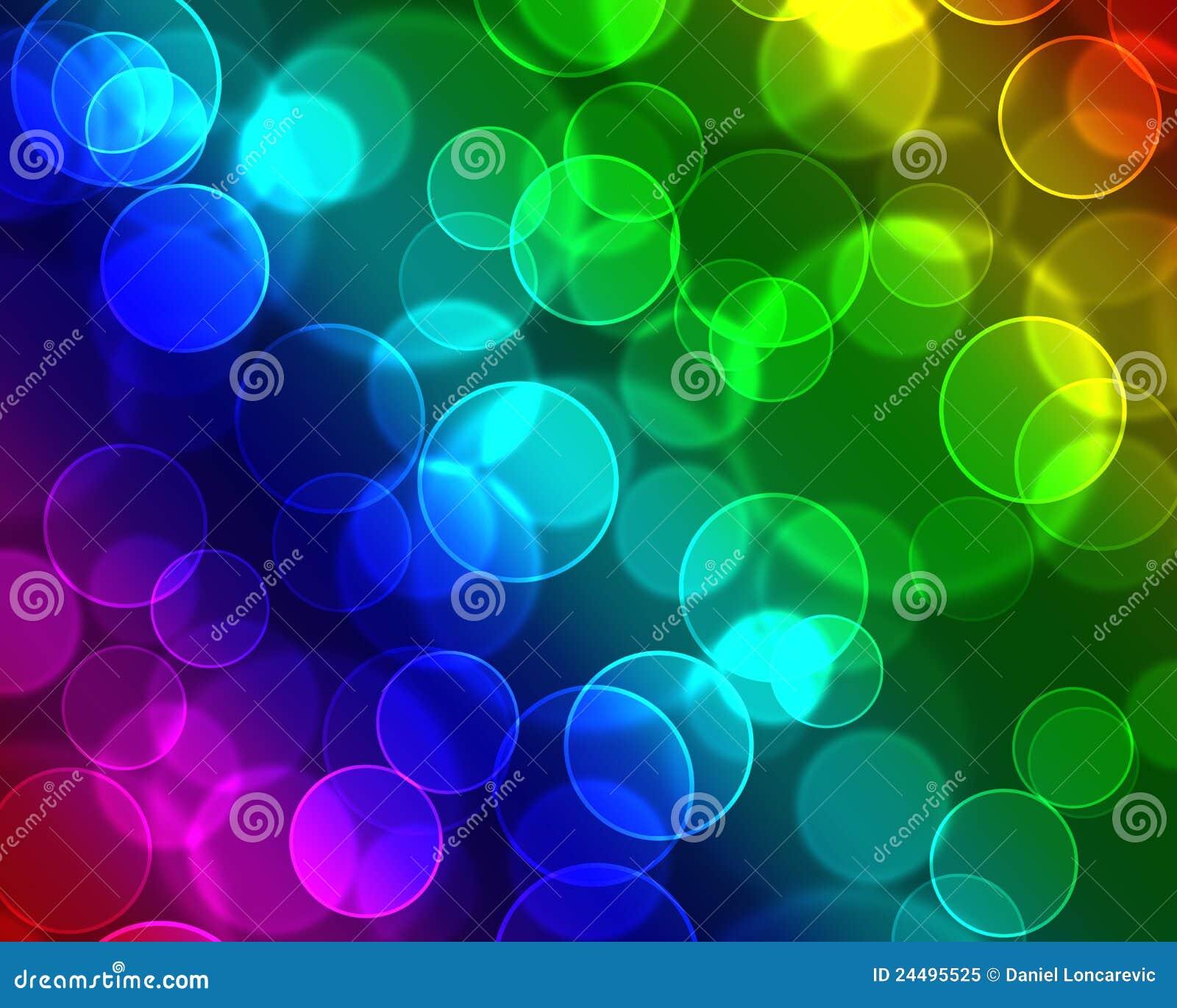 Kleurrijke bellenachtergrond