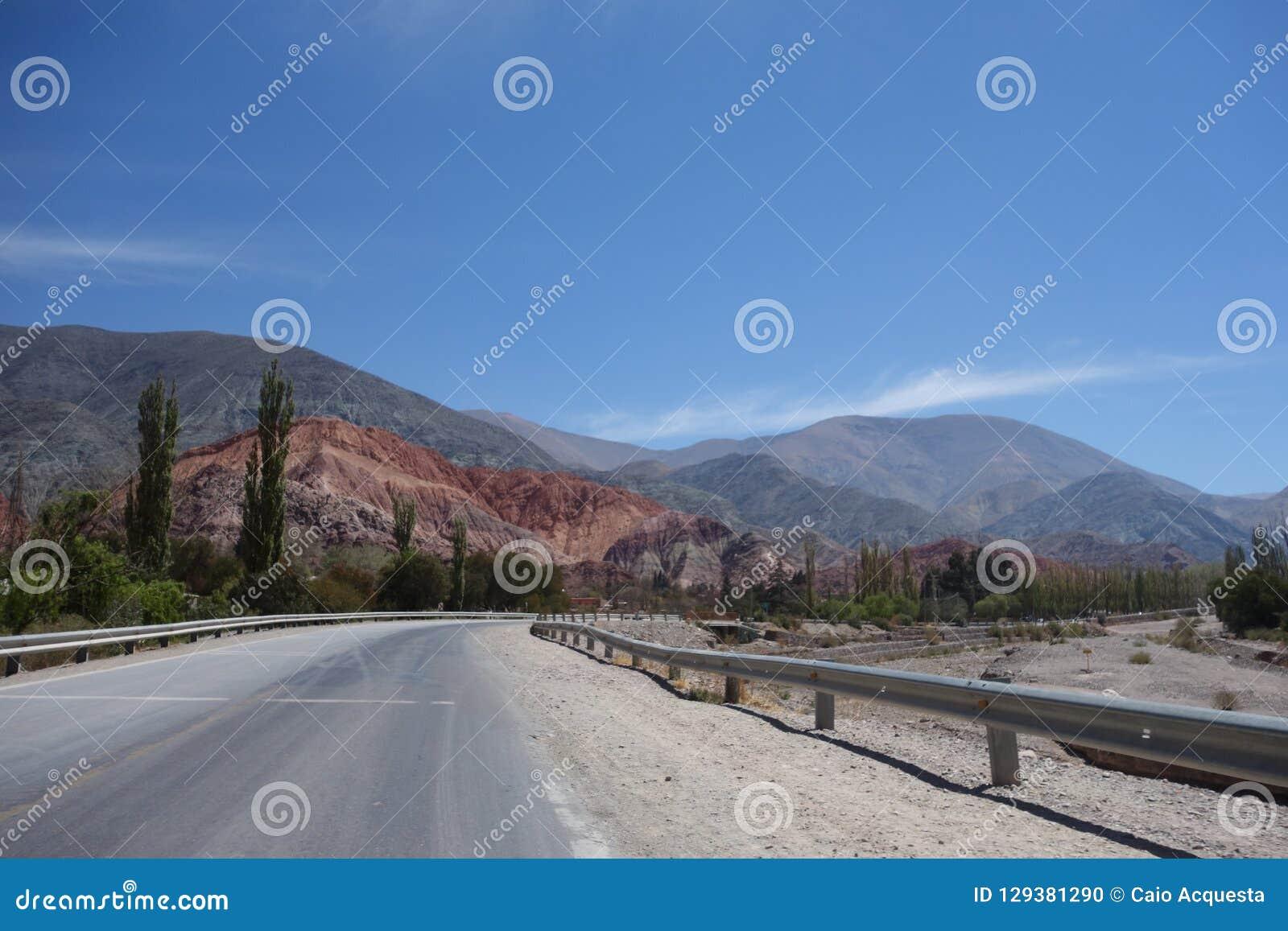 Kleurrijke bergen - het Noorden van Argentinië/noa, jujuy salta,